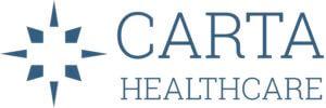 logo - icon + carta healthacre on top