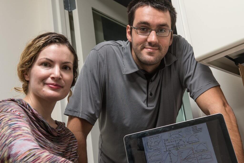 Amina Qutub and André Schultz.