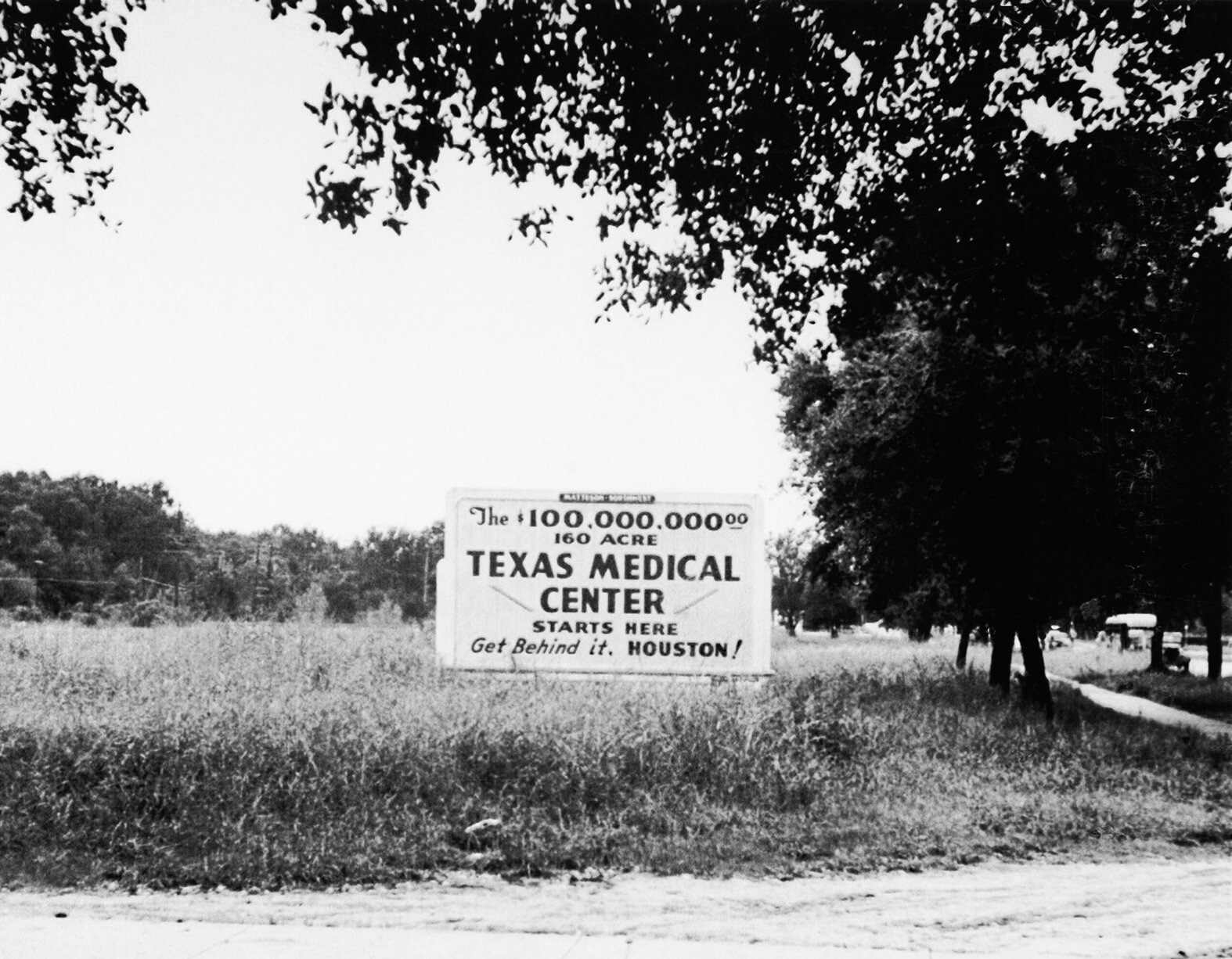 The M.D. Anderson Foundation purchased 134 acres by Hermann Hospital to create the Texas Medical Center.