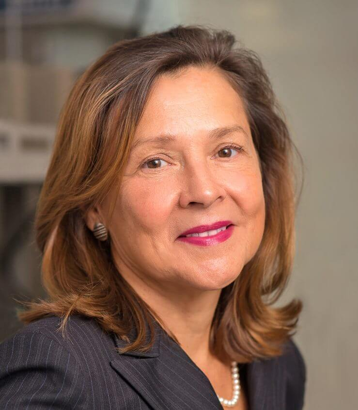 Naomi Halas is Rice's Stanley C. Moore Professor of Electrical and Computer Engineering and professor of chemistry, bioengineering, physics and astronomy, and materials science and nanoengineering.