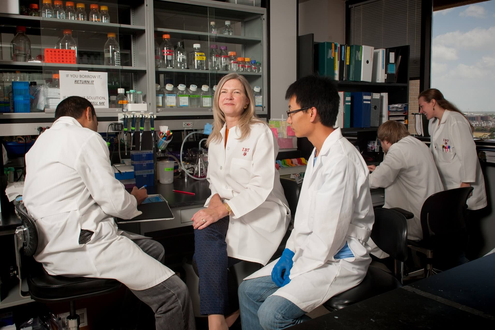 Cheryl Lyn Walker, Ph.D., and her team of researchers from Texas A&M IBT, University of Texas MD Anderson Cancer Center and the University of Houston