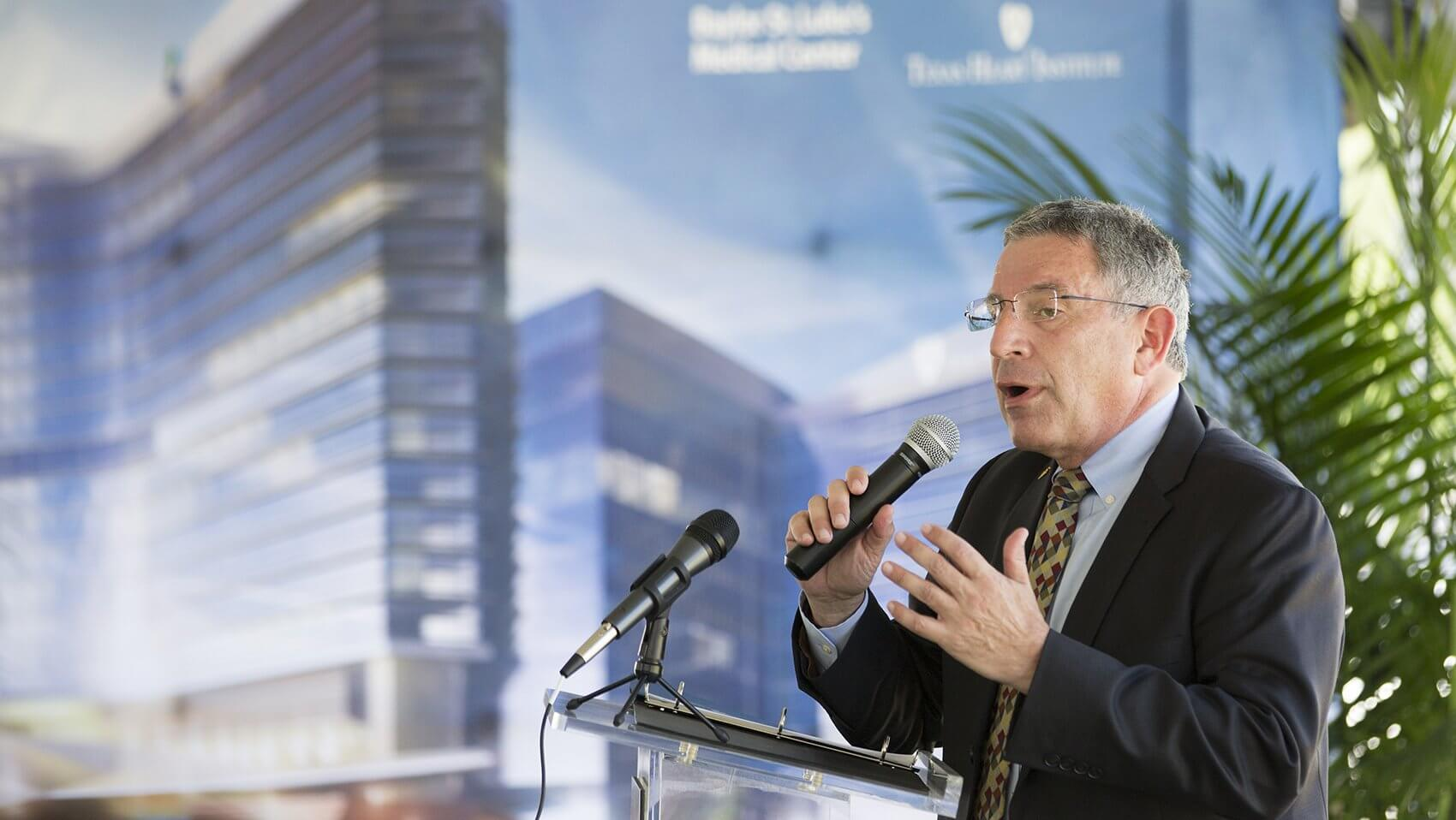 Paul Klotman, M.D., president and chief executive officer of Baylor College of Medicine