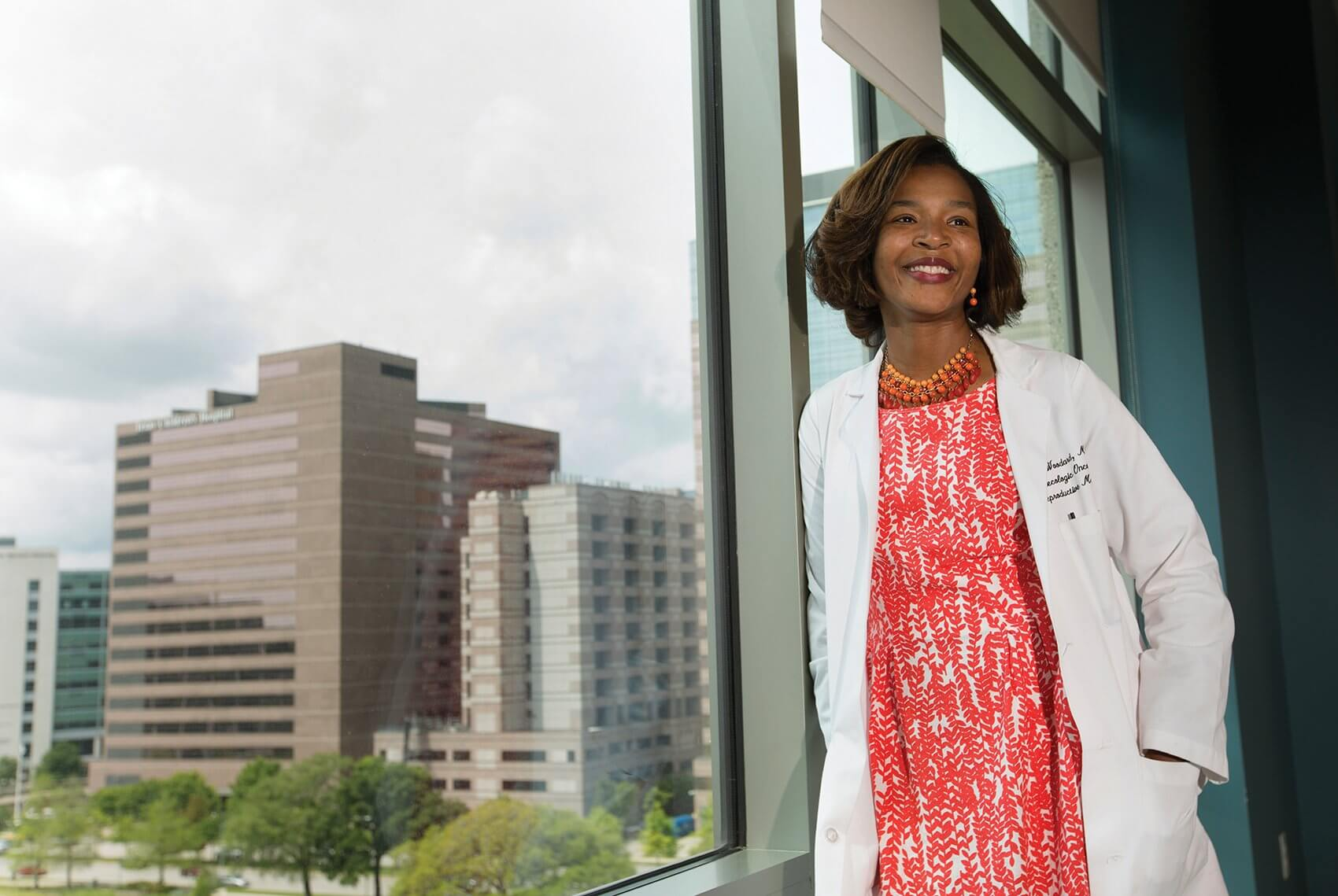 Terri Woodard, M.D., a reproductive endocrinologist with joint appointments at MD Anderson and Baylor College of Medicine.