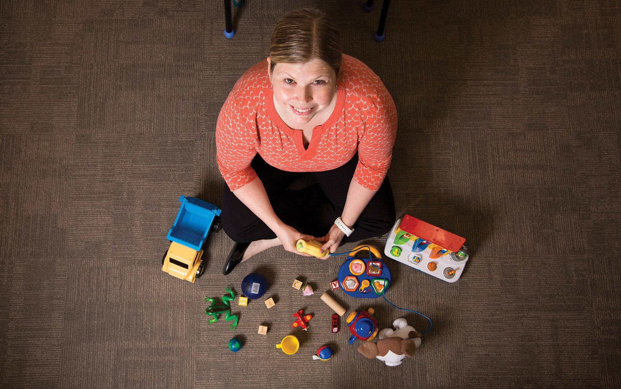 LEANDRA BERRY, Ph.D., pediatric neuropsychologist and associate director of clinical services at The Autism Center at Texas Children's Hospital