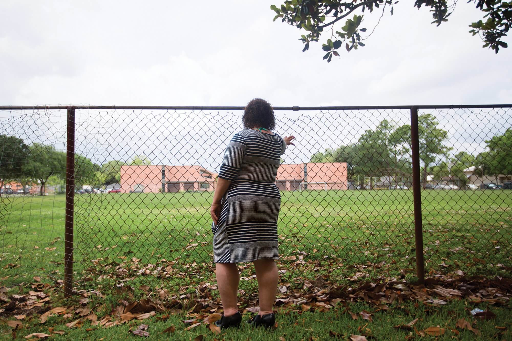 Mari, a victim of sex trafficking, now resides at Angela House, a residential treatment program to help women transition back into society after leaving the criminal justice system.