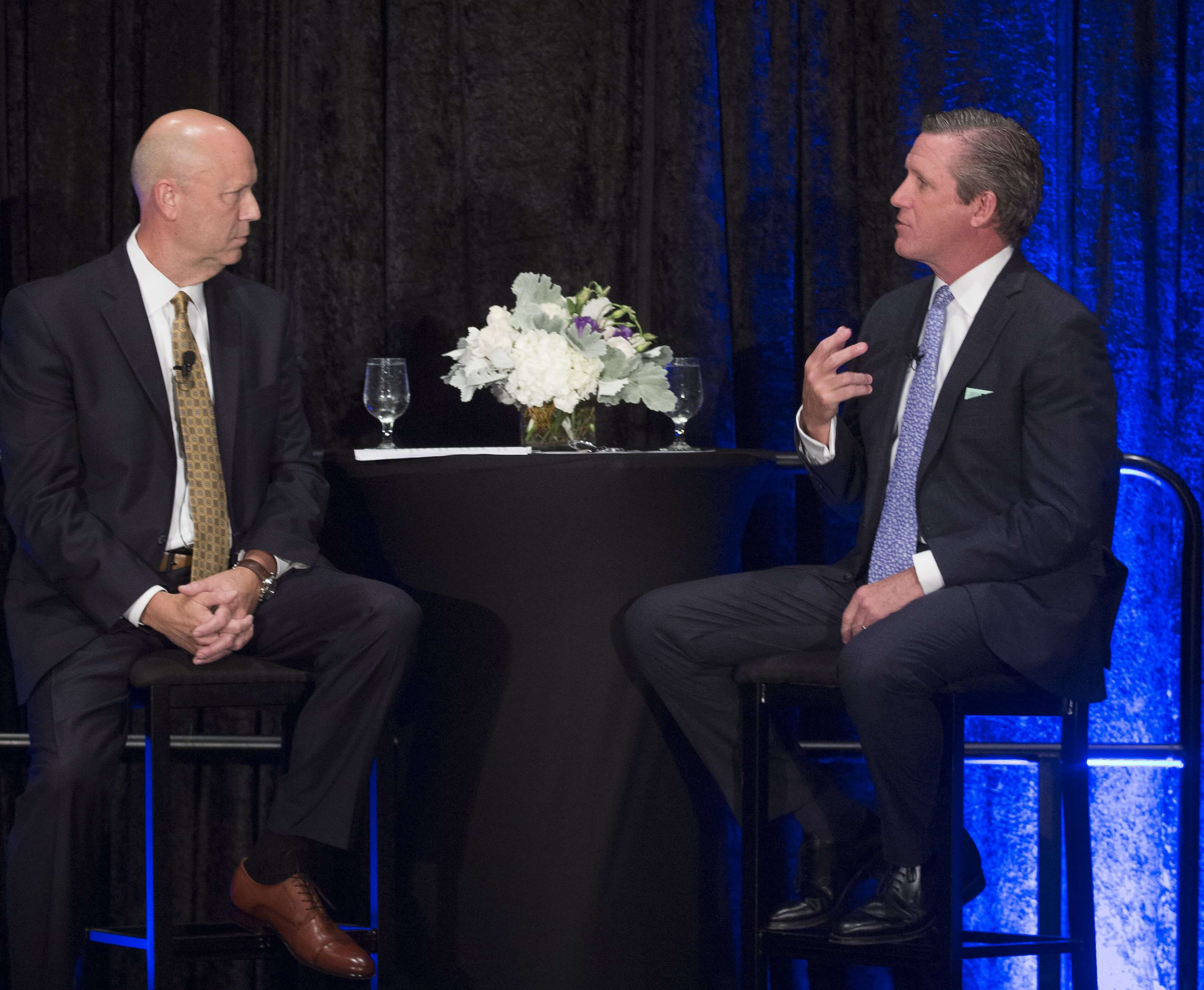Houston Business Journal President and Publisher, Bob Charlet interviews Texas Medical Center President and CEO, William F. McKeon.