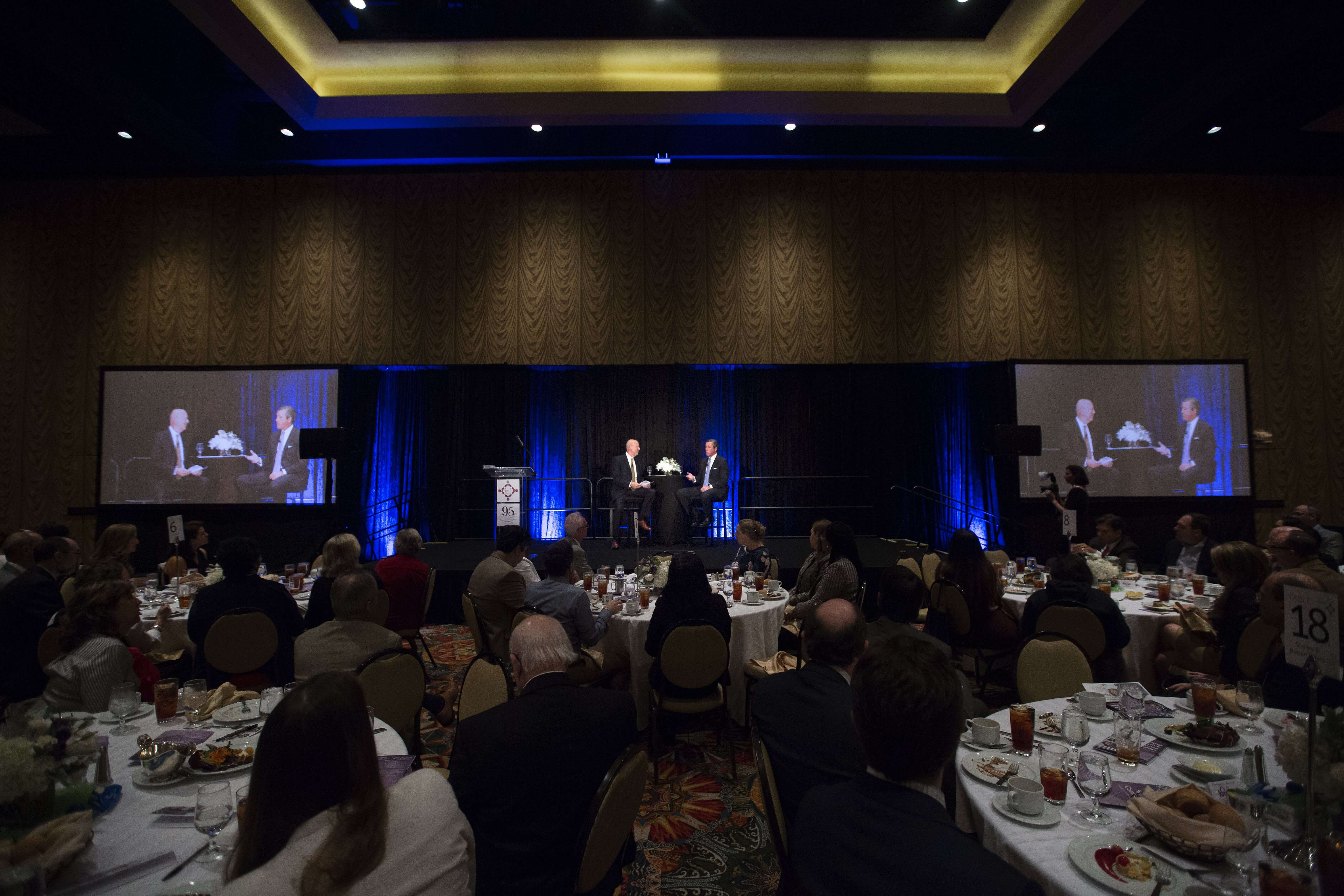 The 7th Annual Fall Speakers Series luncheon: Building Innovative Healthcare Communities, Houston's Model for Growth.