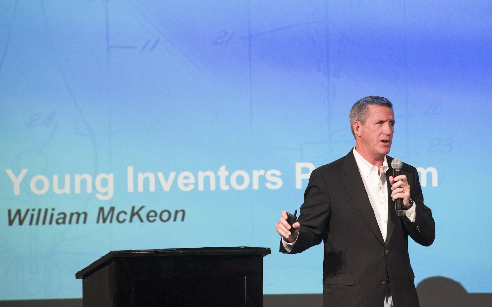 William McKeon, TMC Young Inventors, British International School of Houston