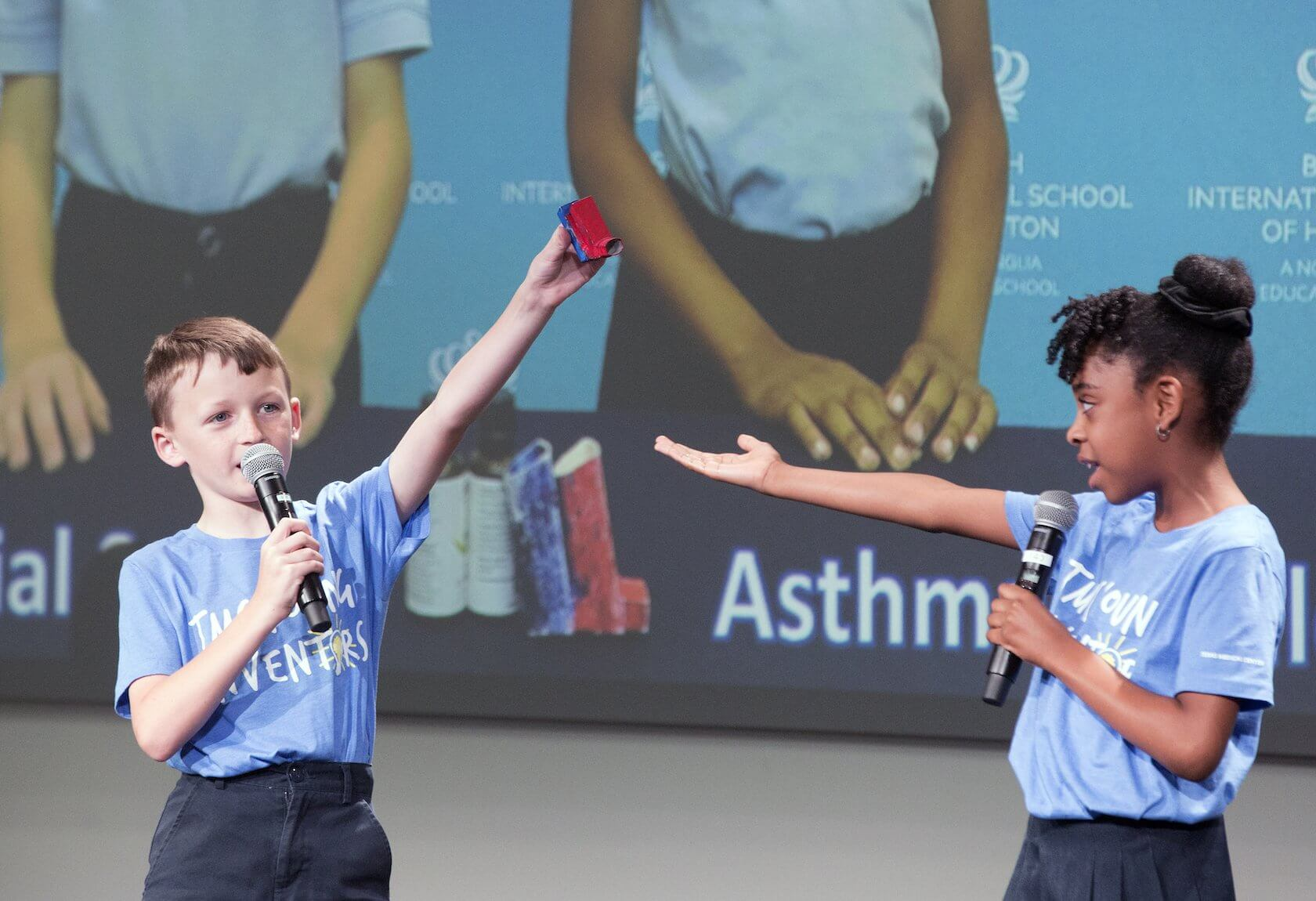 TMC Young Inventors, British International School of Houston