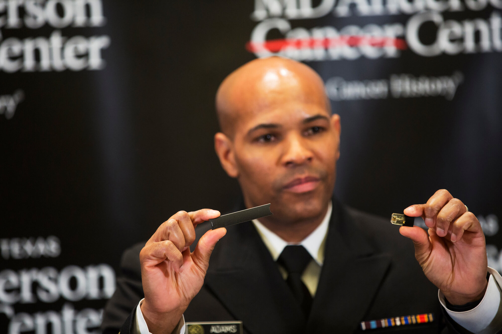 U S Surgeon General Speaks At Md Anderson About The E Cigarette Epidemic Among American Youth Tmc News
