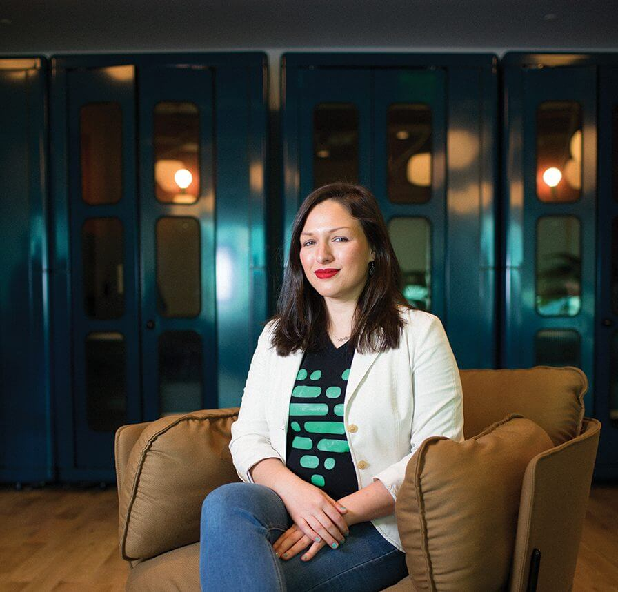 Brittany Barreto, Ph.D., is the CEO and co-founder of Pheramor, a dating app.