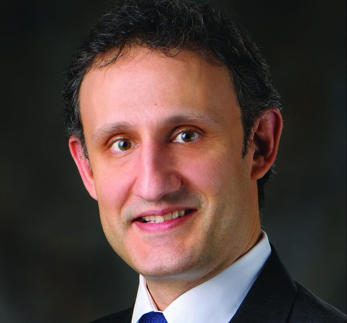 George Pisimisis, M.D., associate professor of thoracic and cardiovascular surgery at MD Anderson.
