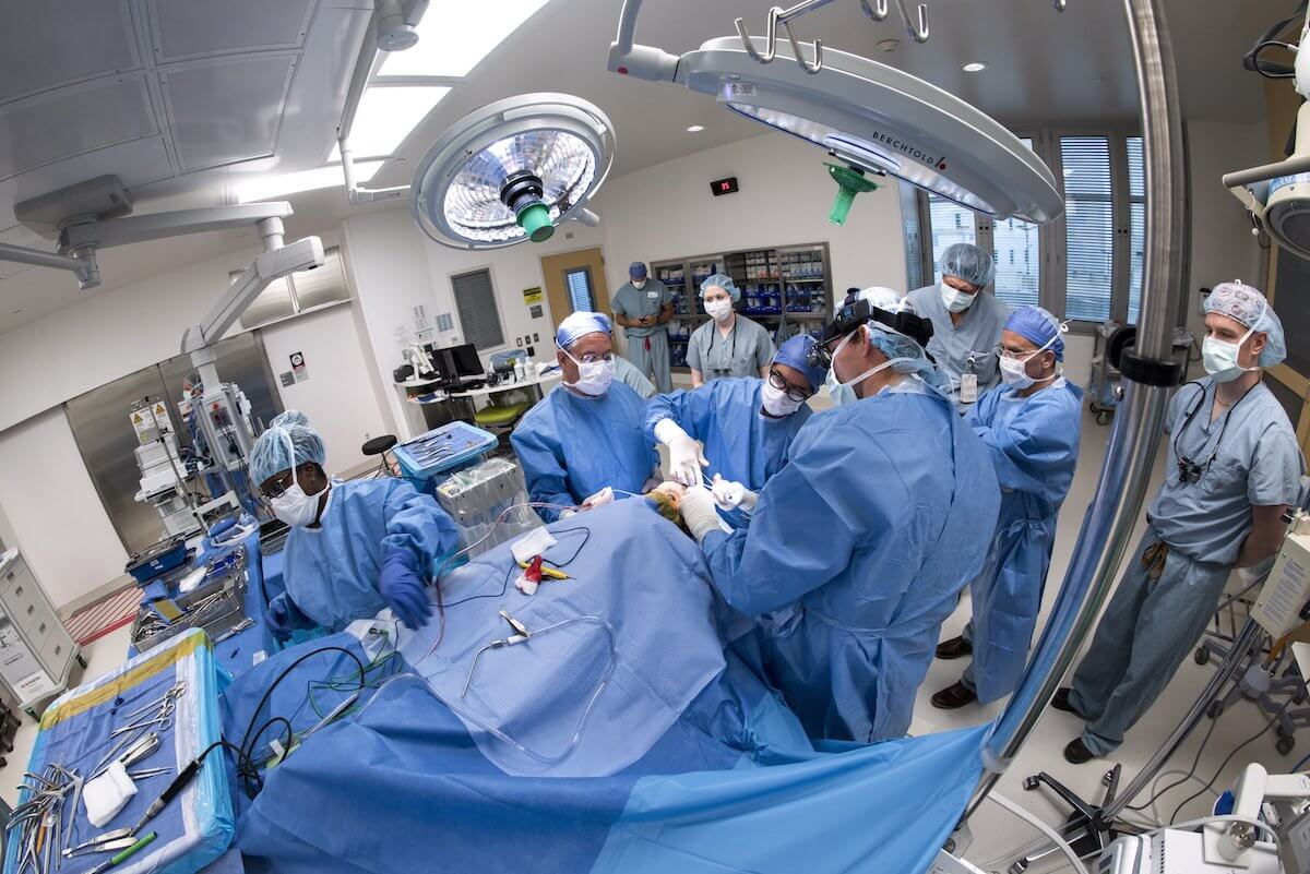 Texas Children's new technologically-advanced operating rooms are designed specifically for neurosurgery, orthopedics, plastic surgery, transplant and pediatric surgery (Credit: Paul Vincent Kuntz/Texas Children's Hospital).