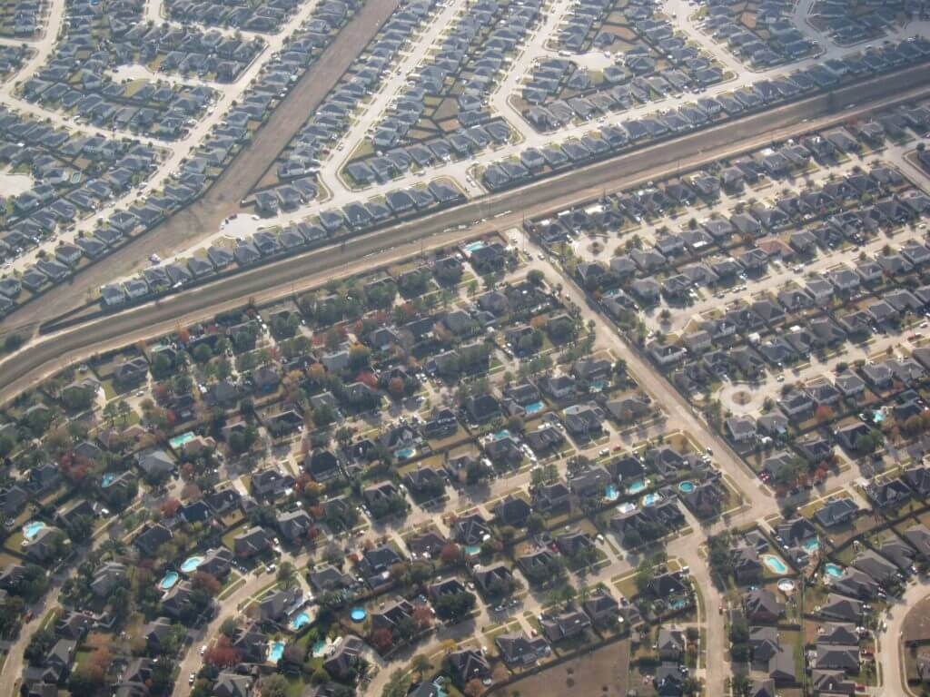 Houston suburbs