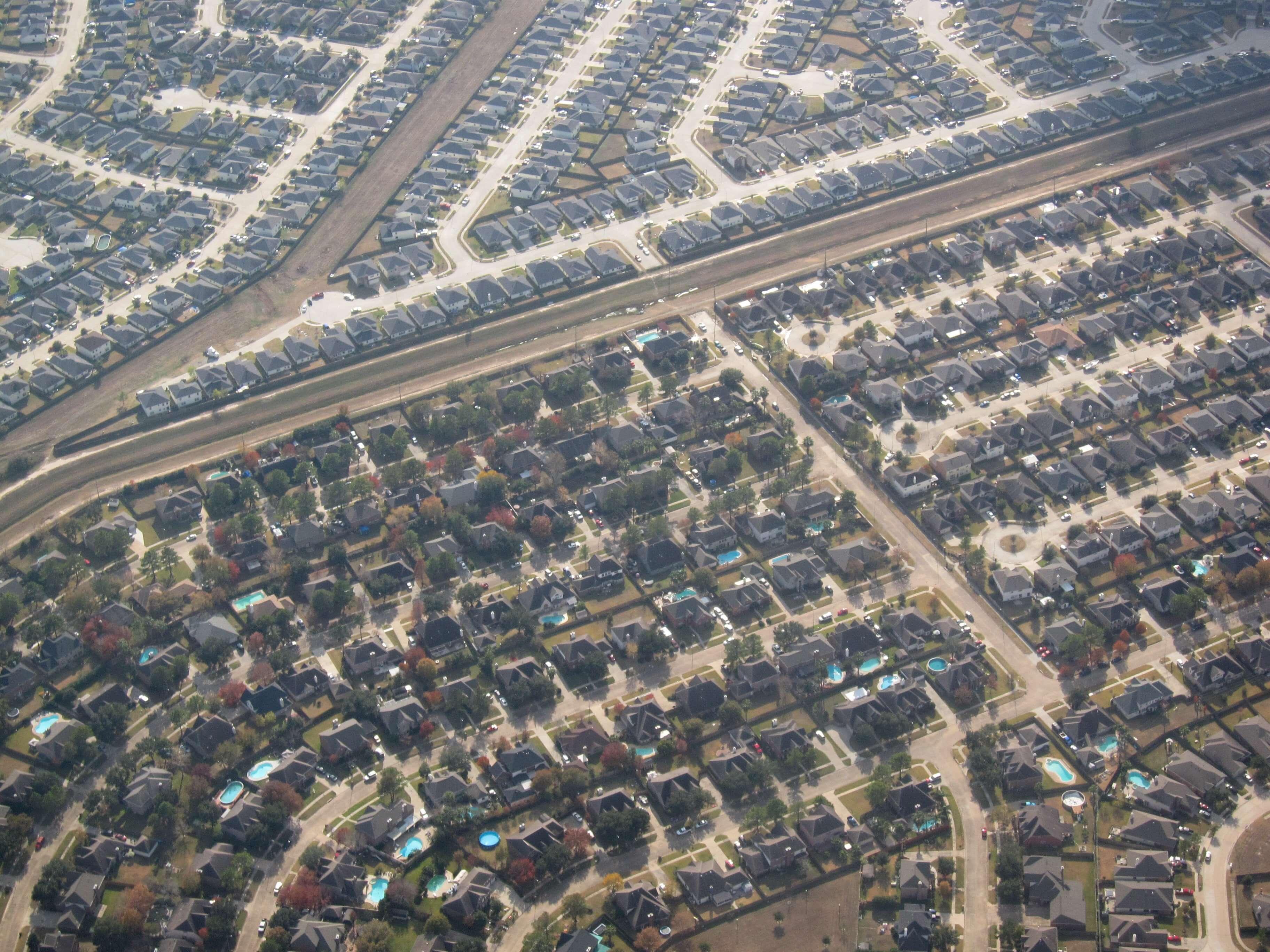 Houston suburbs