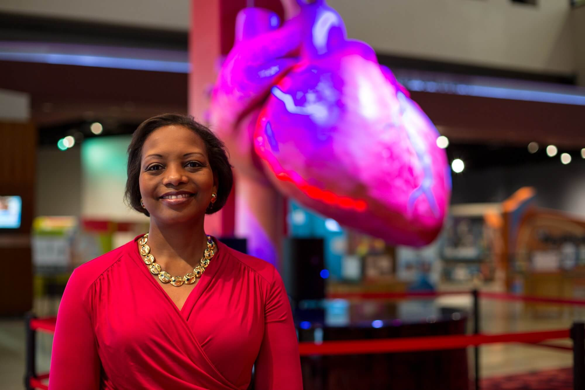 Melanie Johnson, CEO and president of The Health Museum.