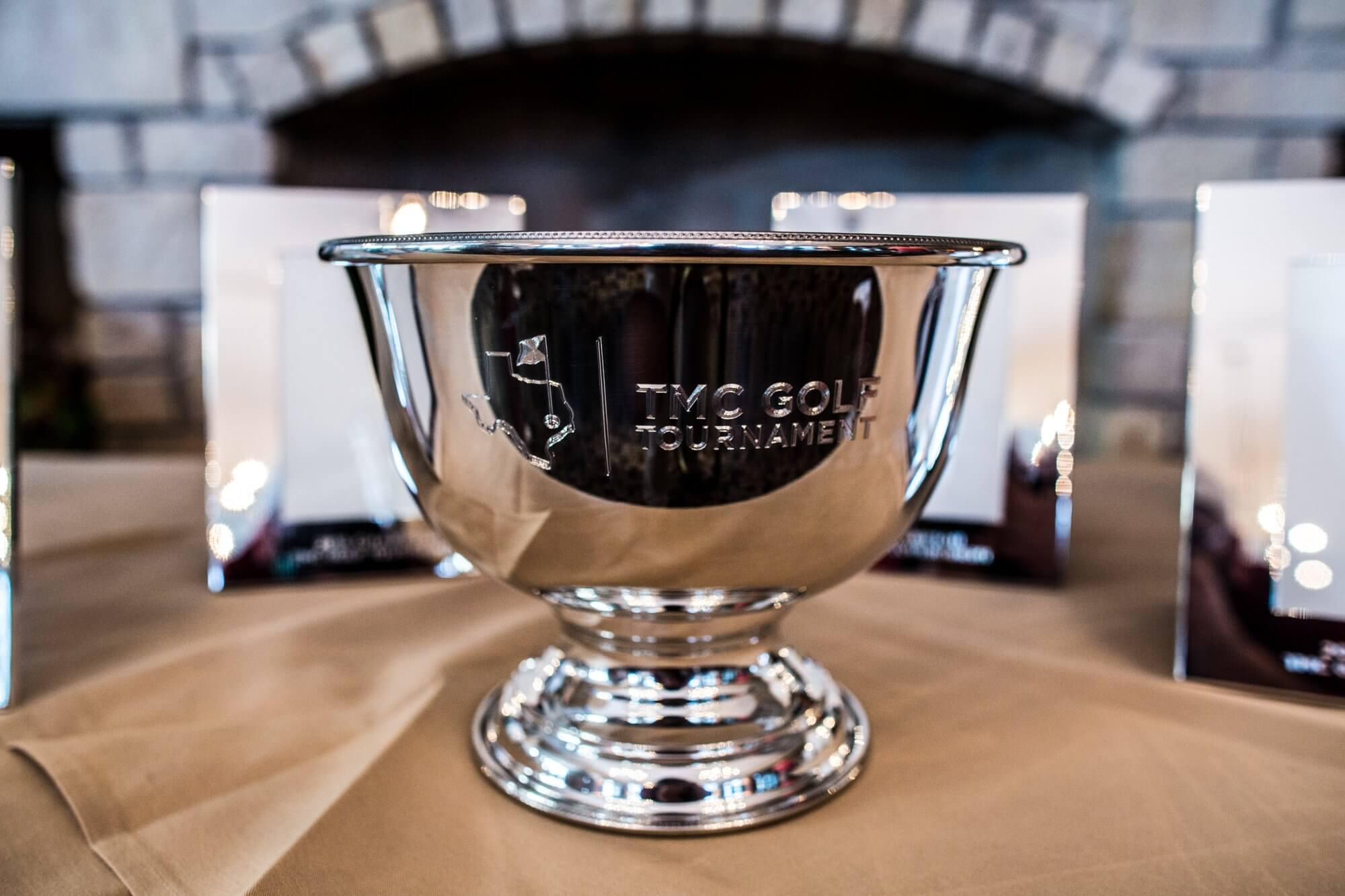 The cup on which winners names will be etched annually.