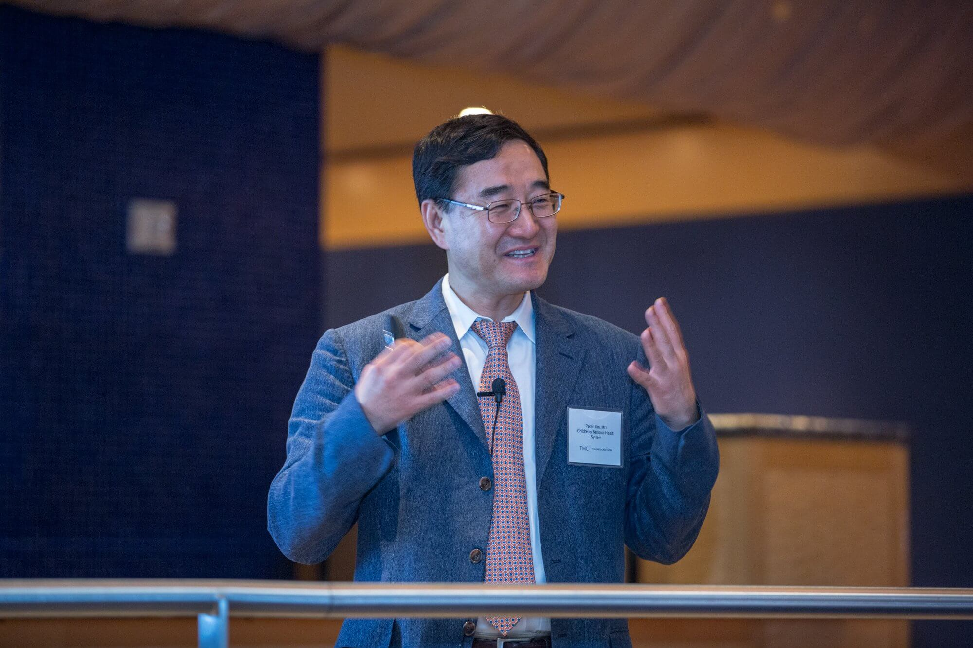 Peter C. W. Kim, M.D., Ph.D., vice president of the Sheikh Zayed Institute for Pediatric Surgical Innovation at Children's National Health System.