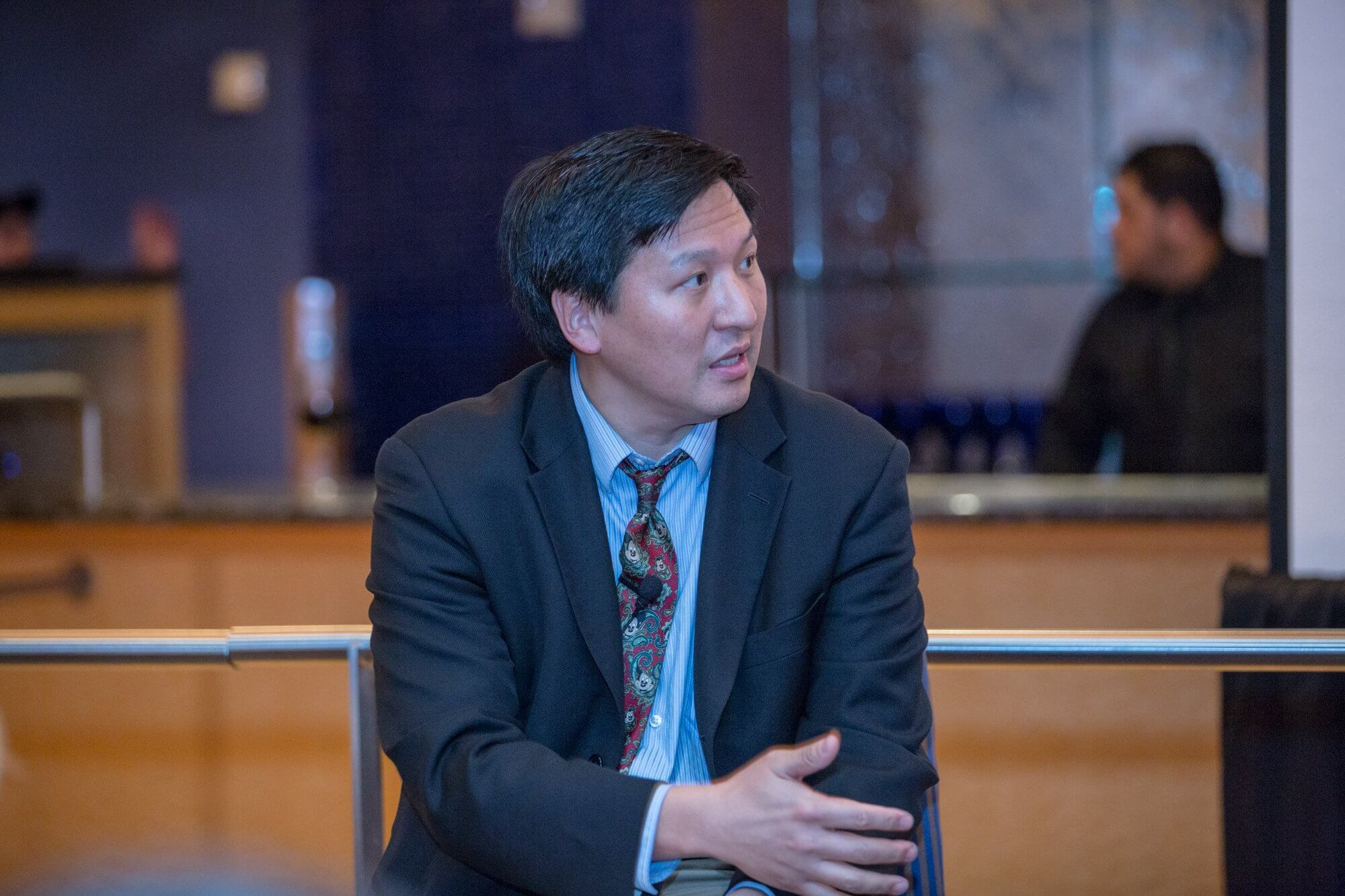 Chester Koh M.D., pediatric urologist and director of the Pediatric Robotic Surgery Program at Texas Children's Hospital.