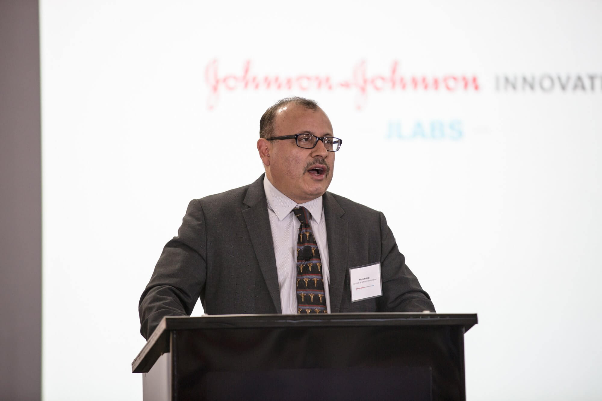 Arturo Molina, M.D., vice president of oncology scientific innovation at Johnson & Johnson.