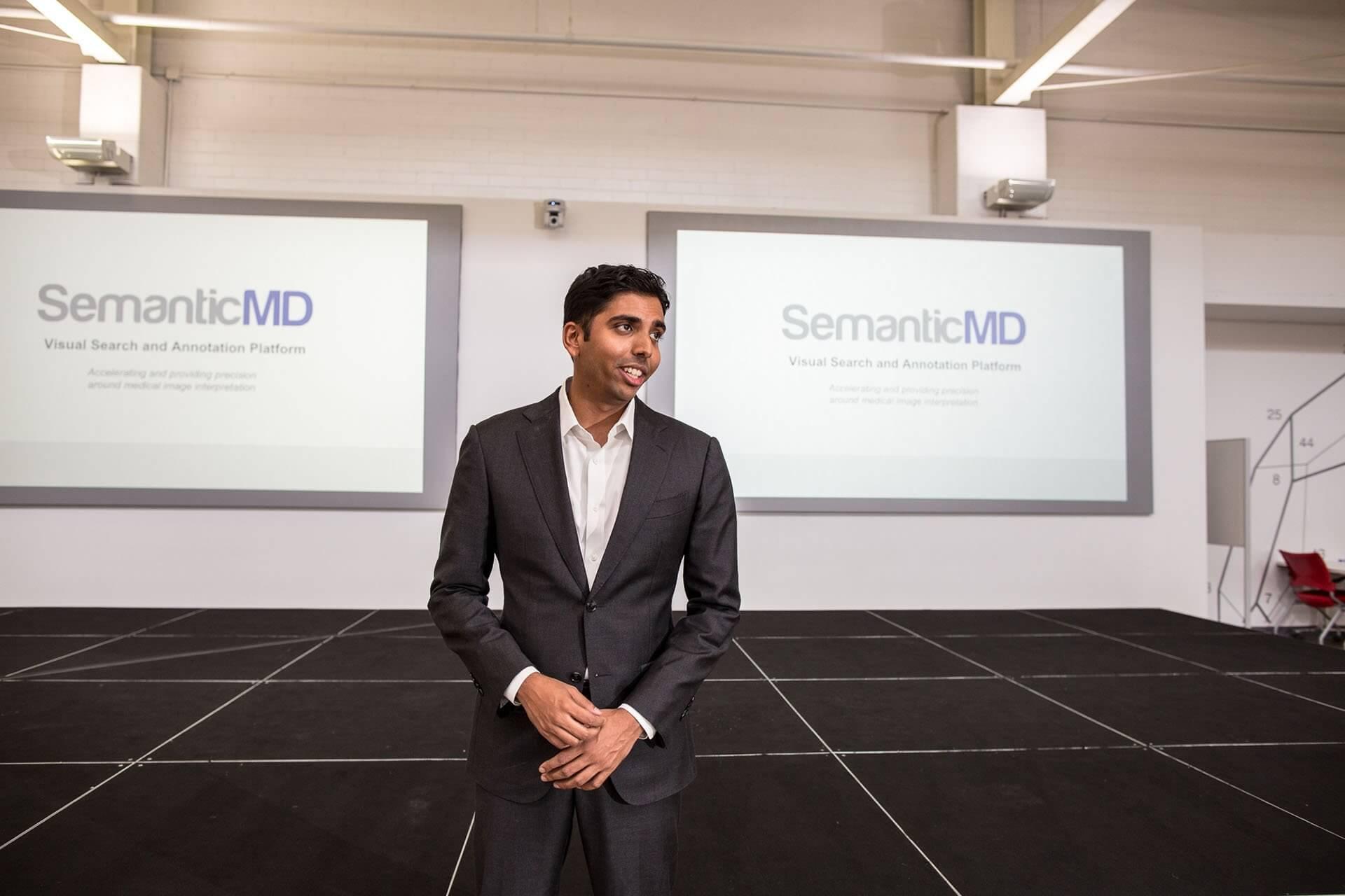 Santosh Bhavani, chief executive officer of SemanticMD