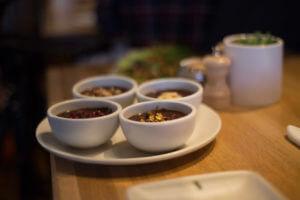 Dark chocolate pudding from True Food Kitchen