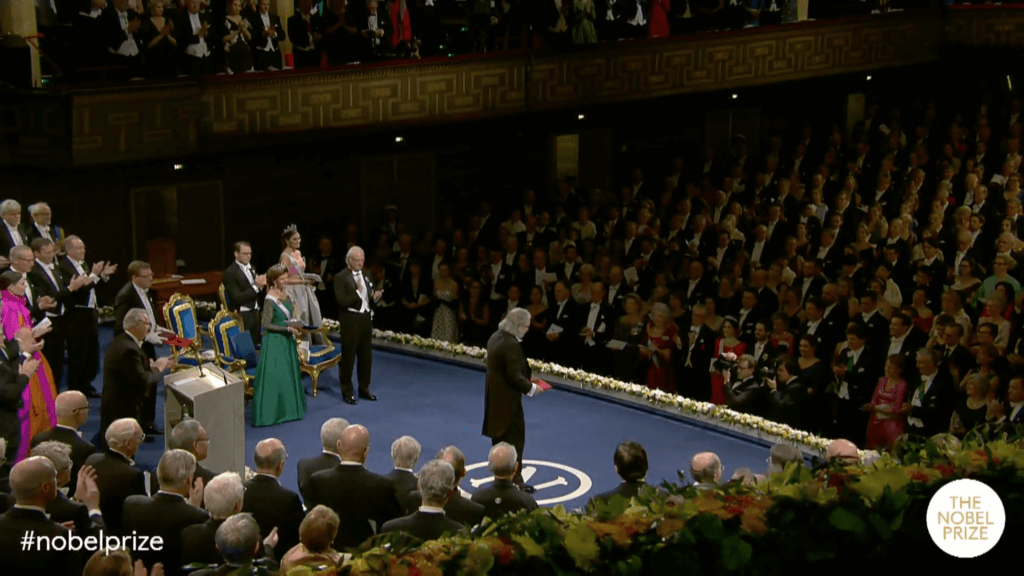 Allison receives Nobel