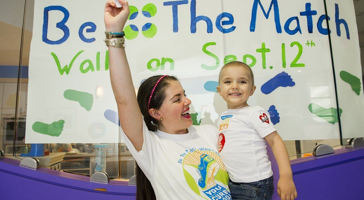 Texas Children's Hospital patient Luis Aguilar and his mother (Photo credit: Allen Kramer for Texas Children's Hospital)