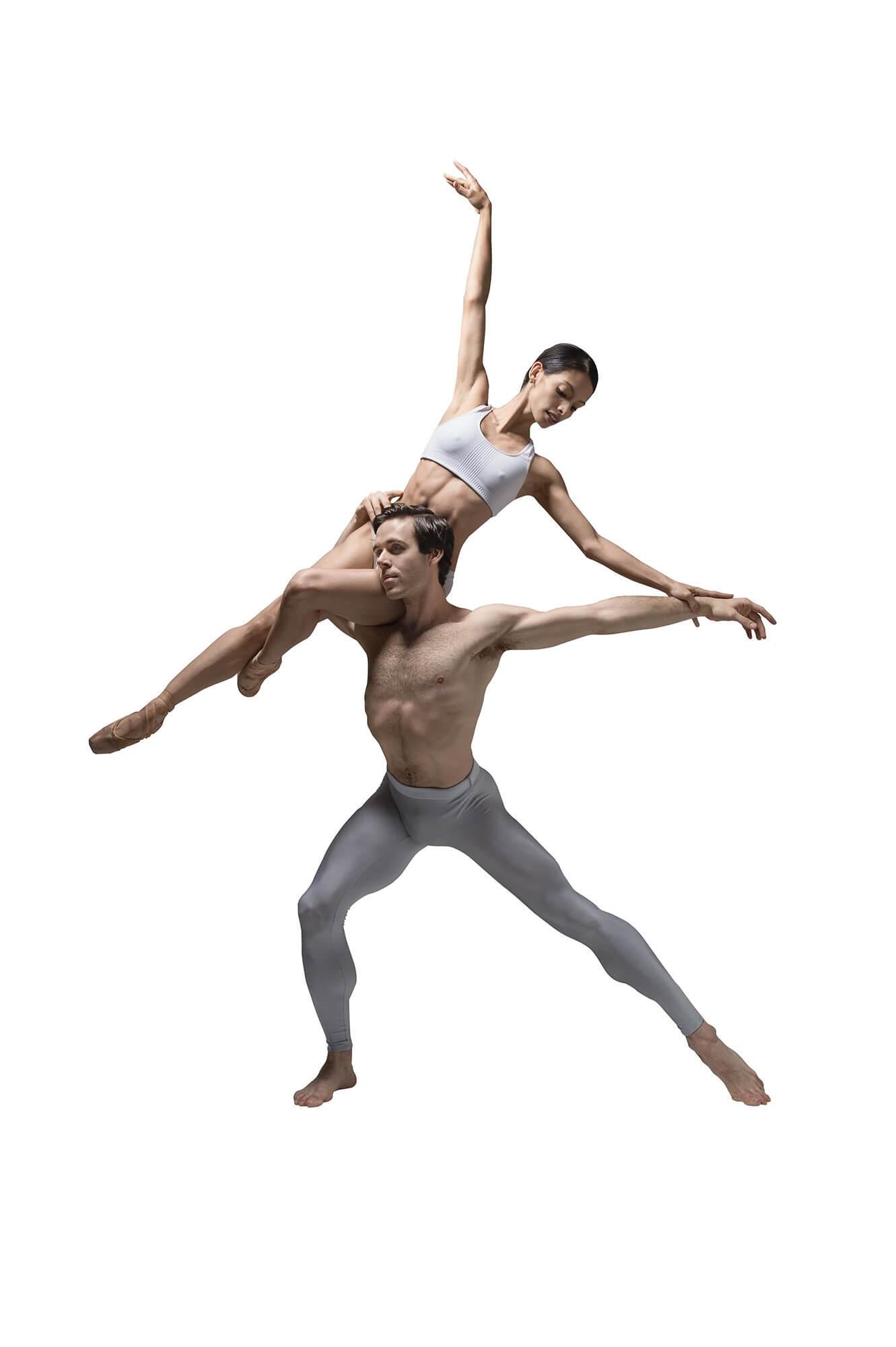 Karina González and Connor Walsh, of the Houston Ballet. Credit: Taylor-Ferné Morris, courtesy of Houston Ballet.