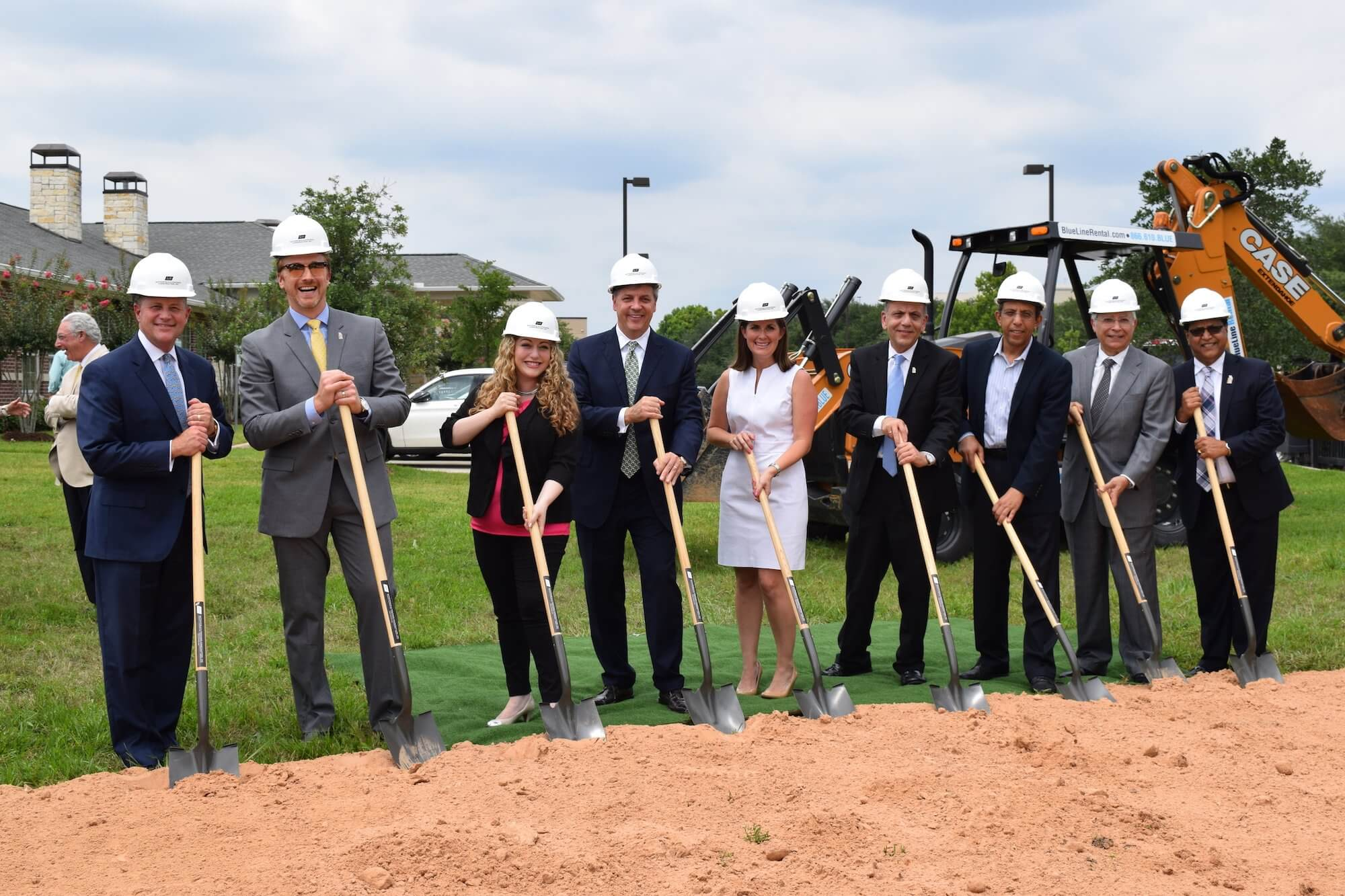 Nora's Home held a groundbreaking ceremony for its expansion on June 9.