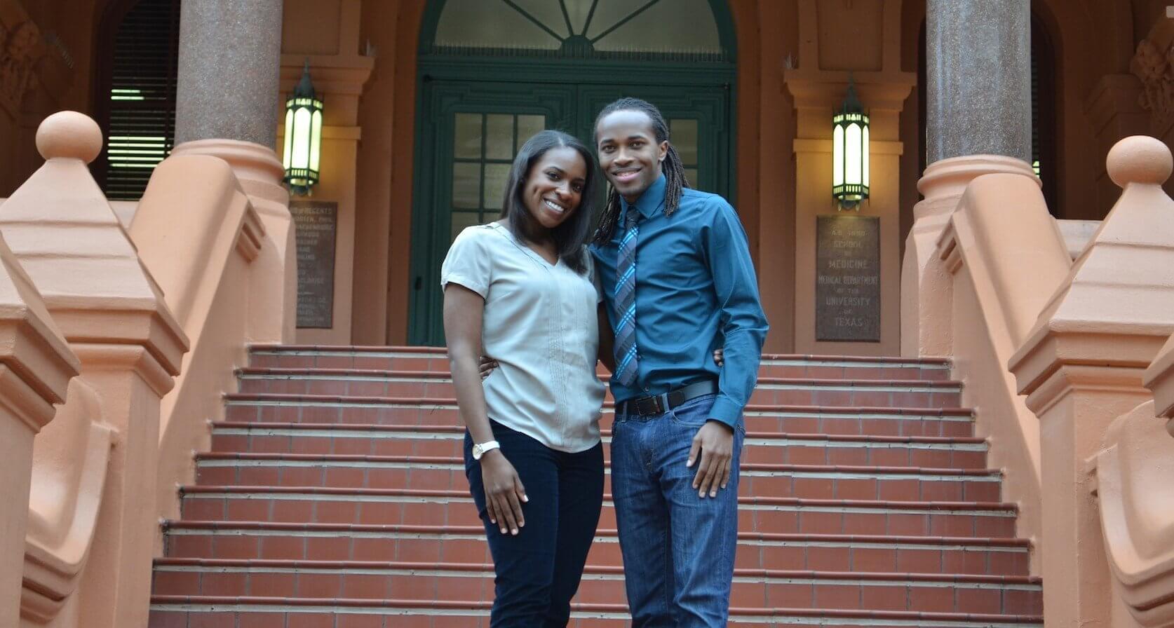Tiffany Jones and Lahnden Onger