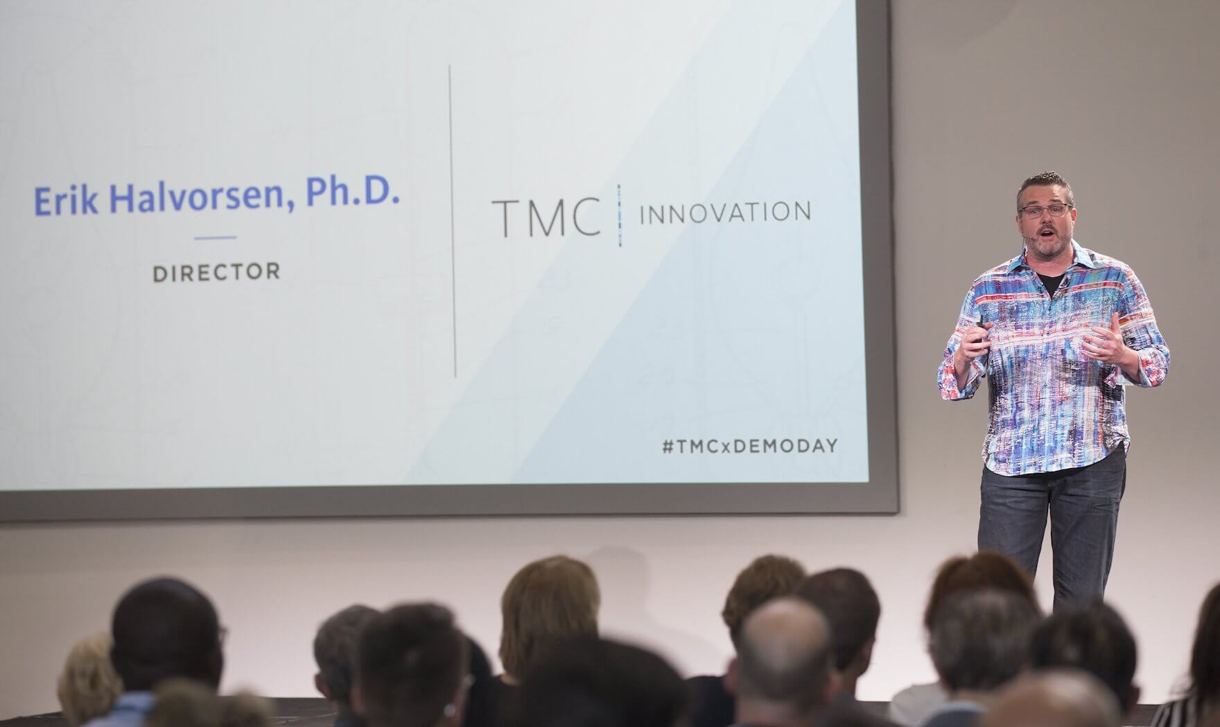 Erik Halvorsen, TMC Innovation Institute, TMCx Demo Day