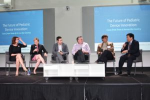 """The Future of Pediatric Device Innovation: Cases from Texas and Across the Country"""" panel."""