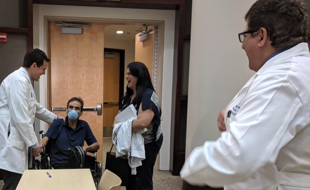 Gabriel Loor Silviano Trino lung transplant