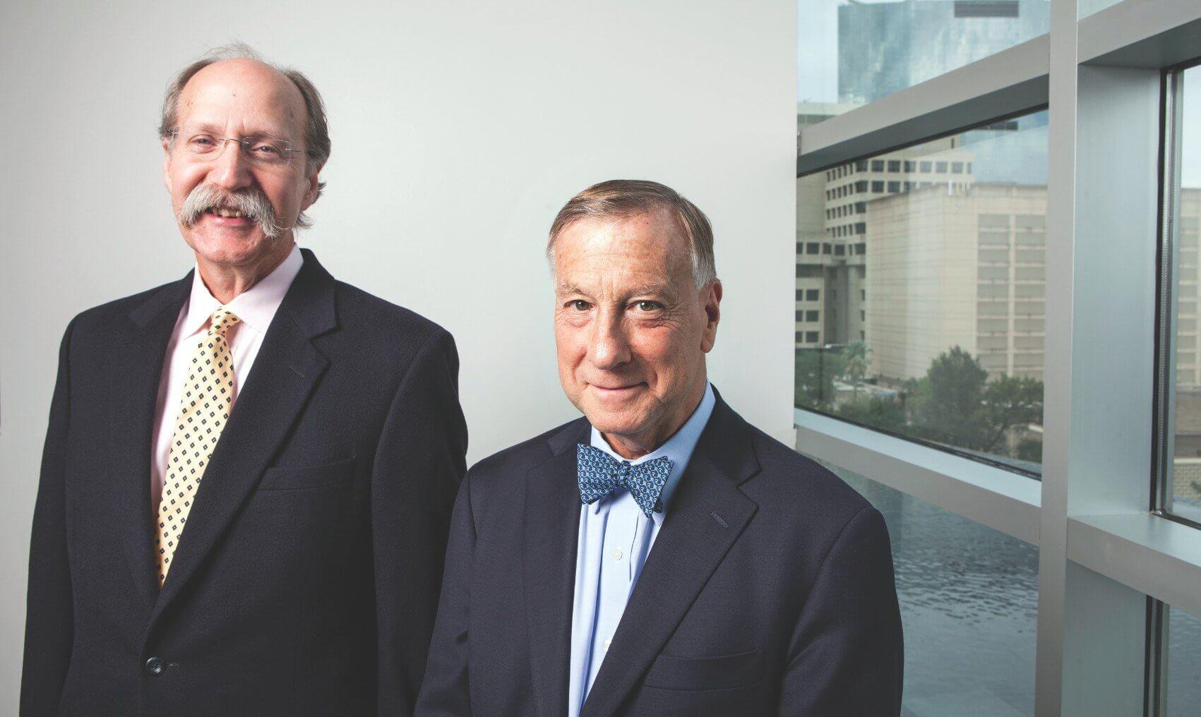 "Stephen H. Linder, Ph.D. and Arthur ""Tim"" Garson Jr., M.D., MPH"