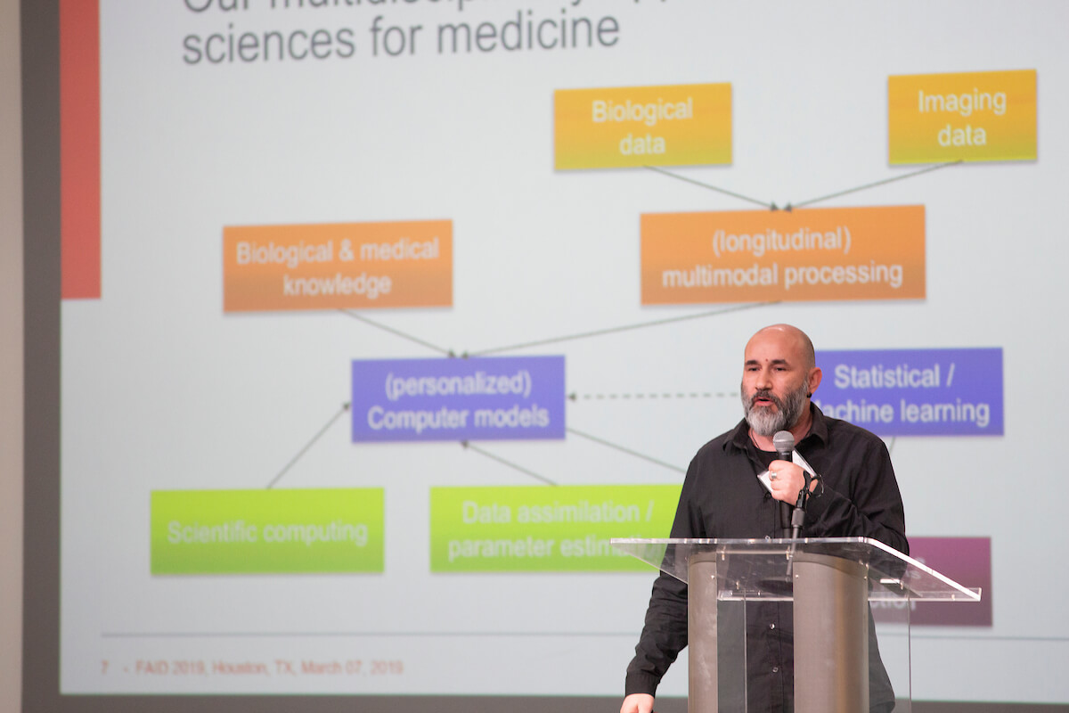 Hugues Berry, Ph.D., deputy scientific director of INRIS for Digital Health, Biology and Earth.