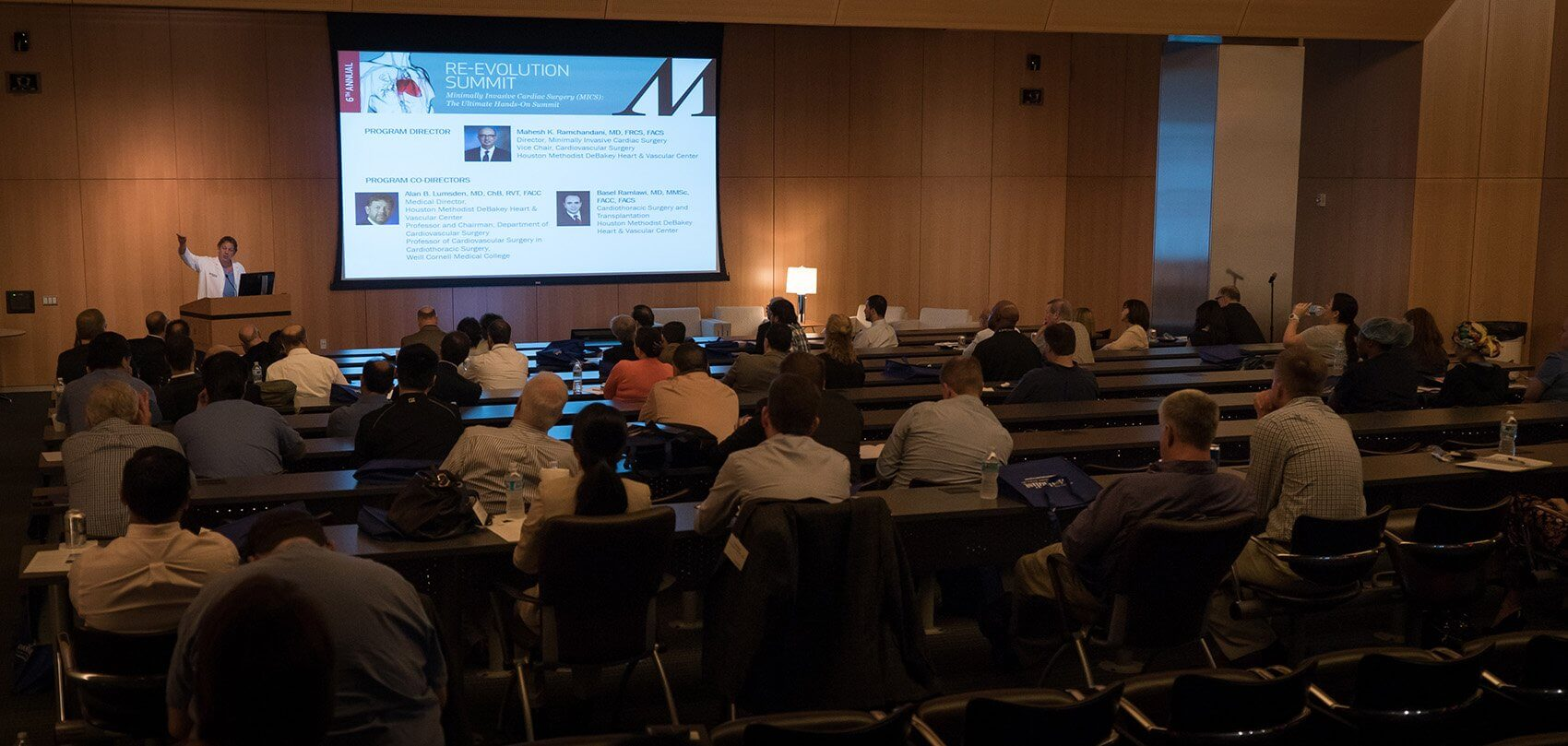Morning classroom sessions, featuring a combination of didactic lectures, video demonstrations and panel discussions, provided a foundation for the hands-on workshops later in the day.