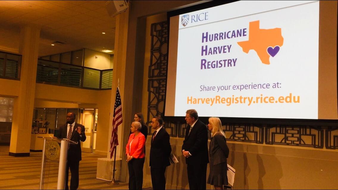 Harvey registry
