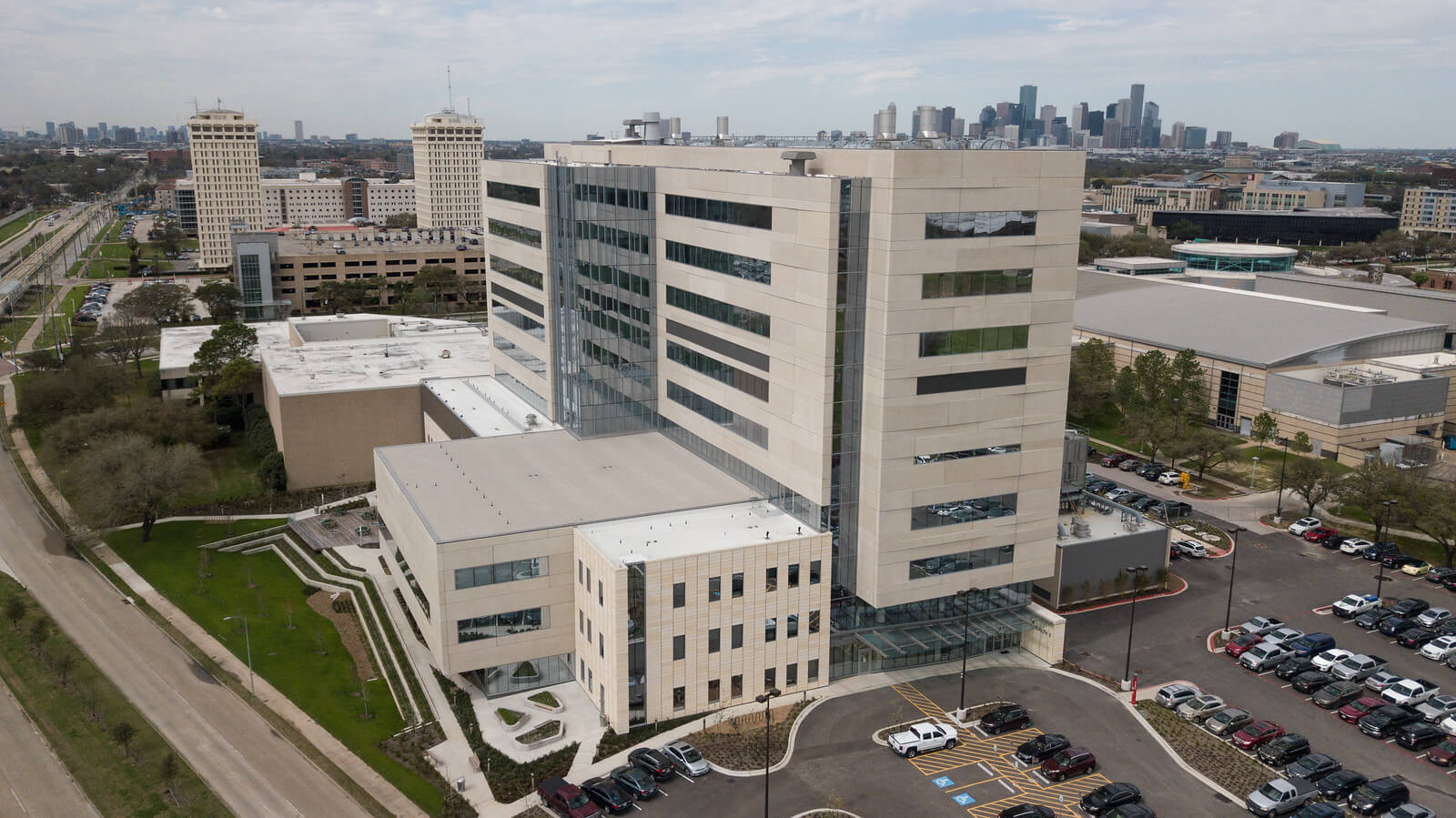 The University of Houston's Health 2 Building serves as a temporary home to the UH College of Medicine for three planning years and the first two years of initial enrollment. (Courtesy of UH)