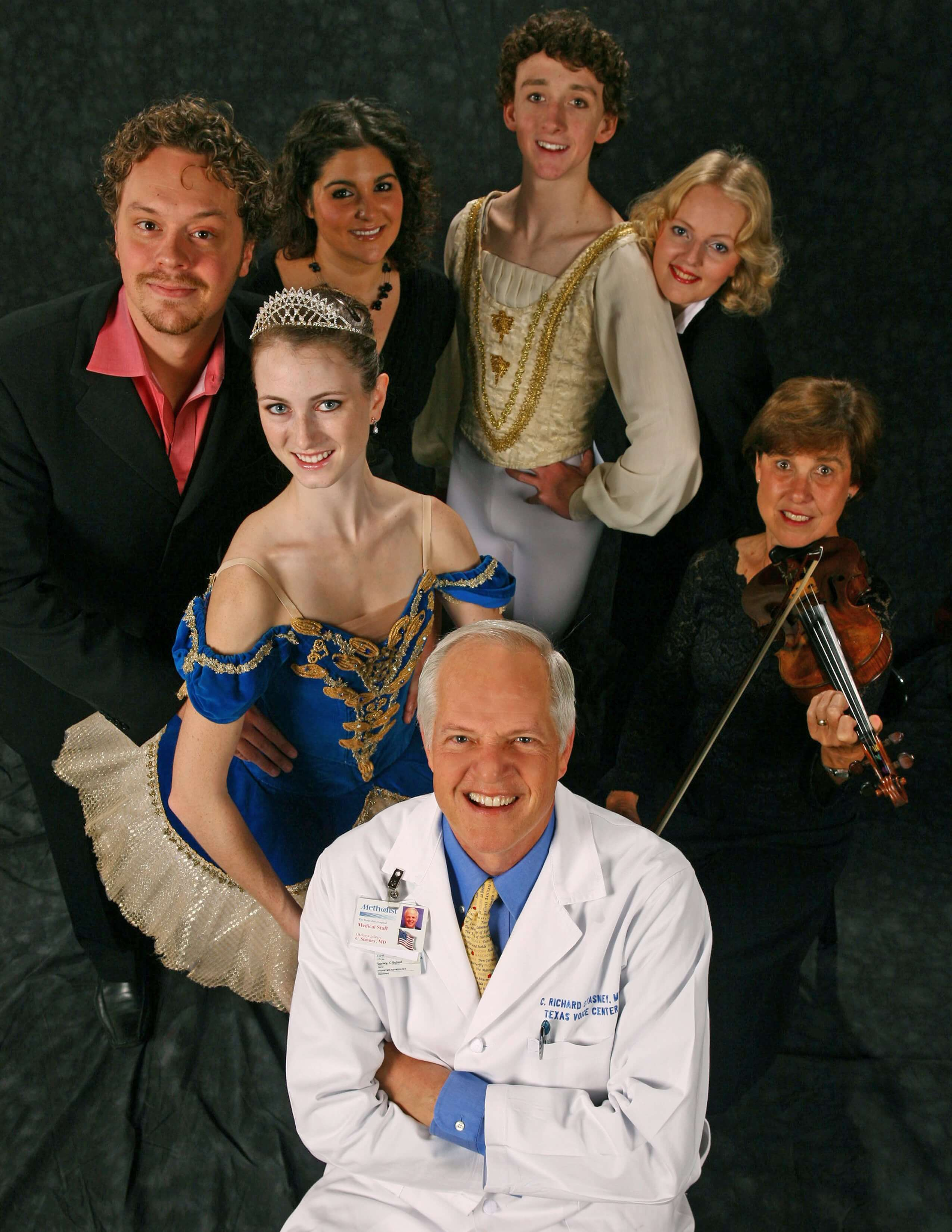 Dr. C. Richard Stasney, also known as Houston's Opera Doctor, founded the Center for Performing Arts Medicine in 1996. (Photo Courtesy of Houston Methodist)