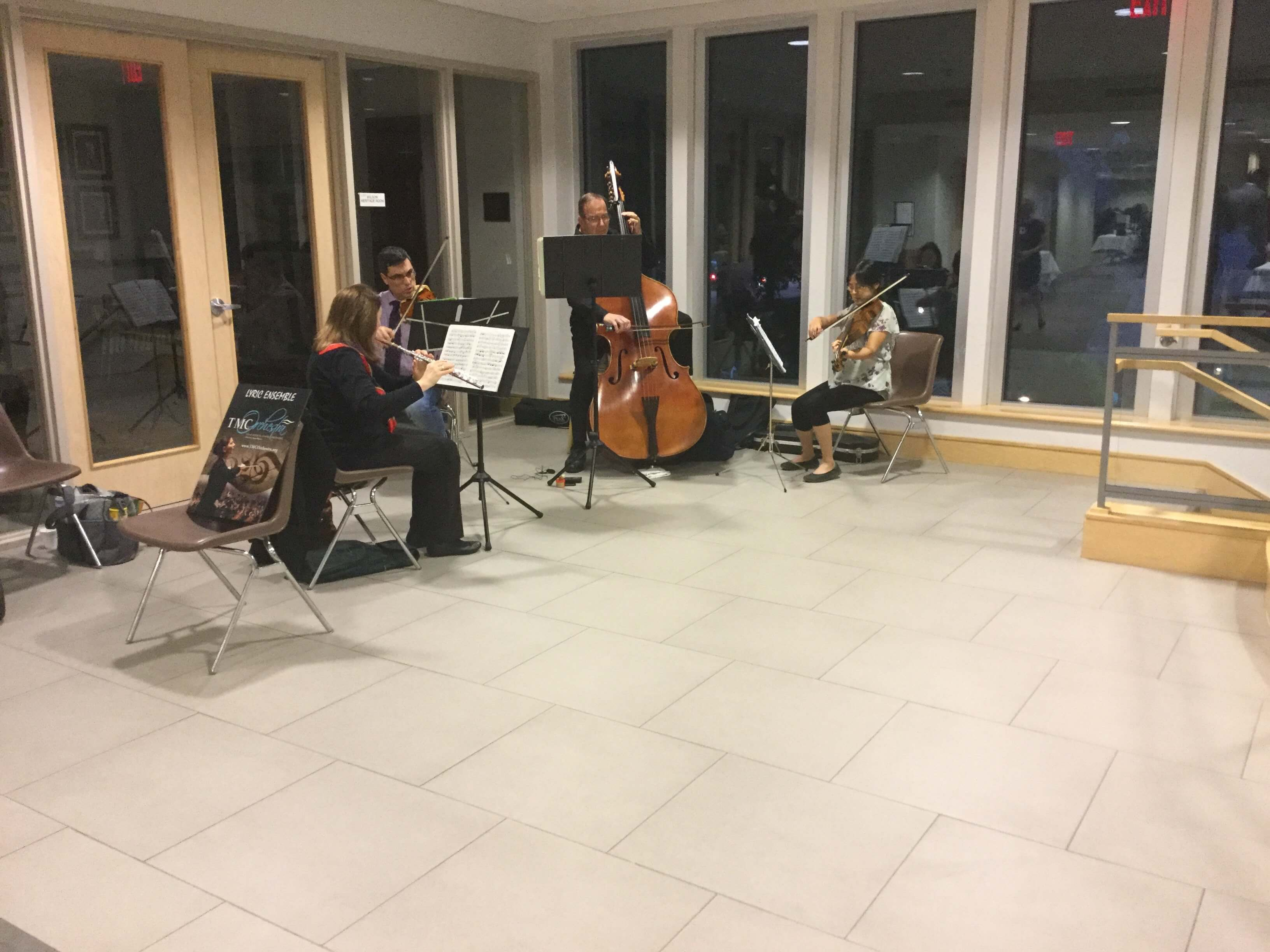 The Texas Medical Center Orchestra welcomes guests to Evenings with Genetics.