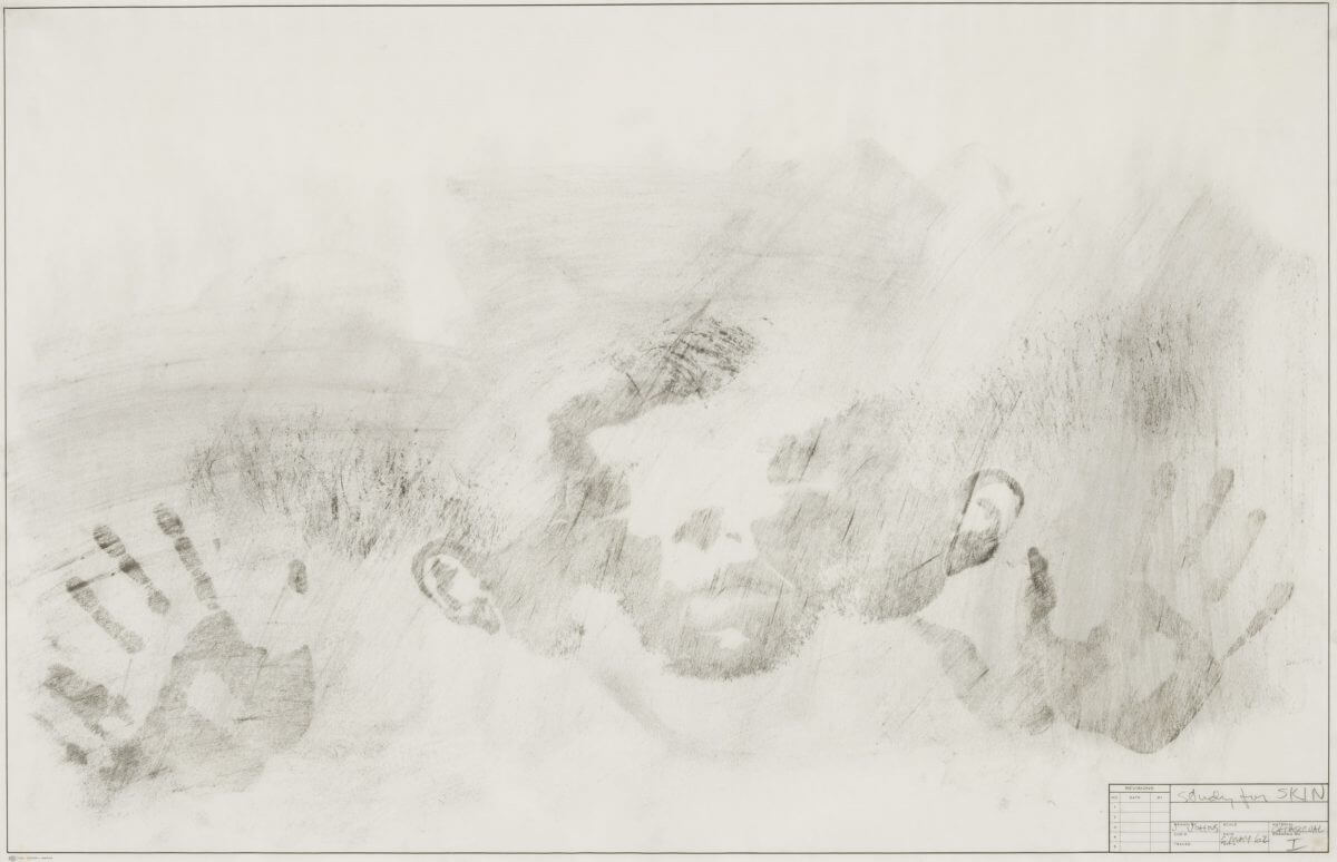 Study for Skin I, 1962. Image courtesy of the Menil Drawing Institute.