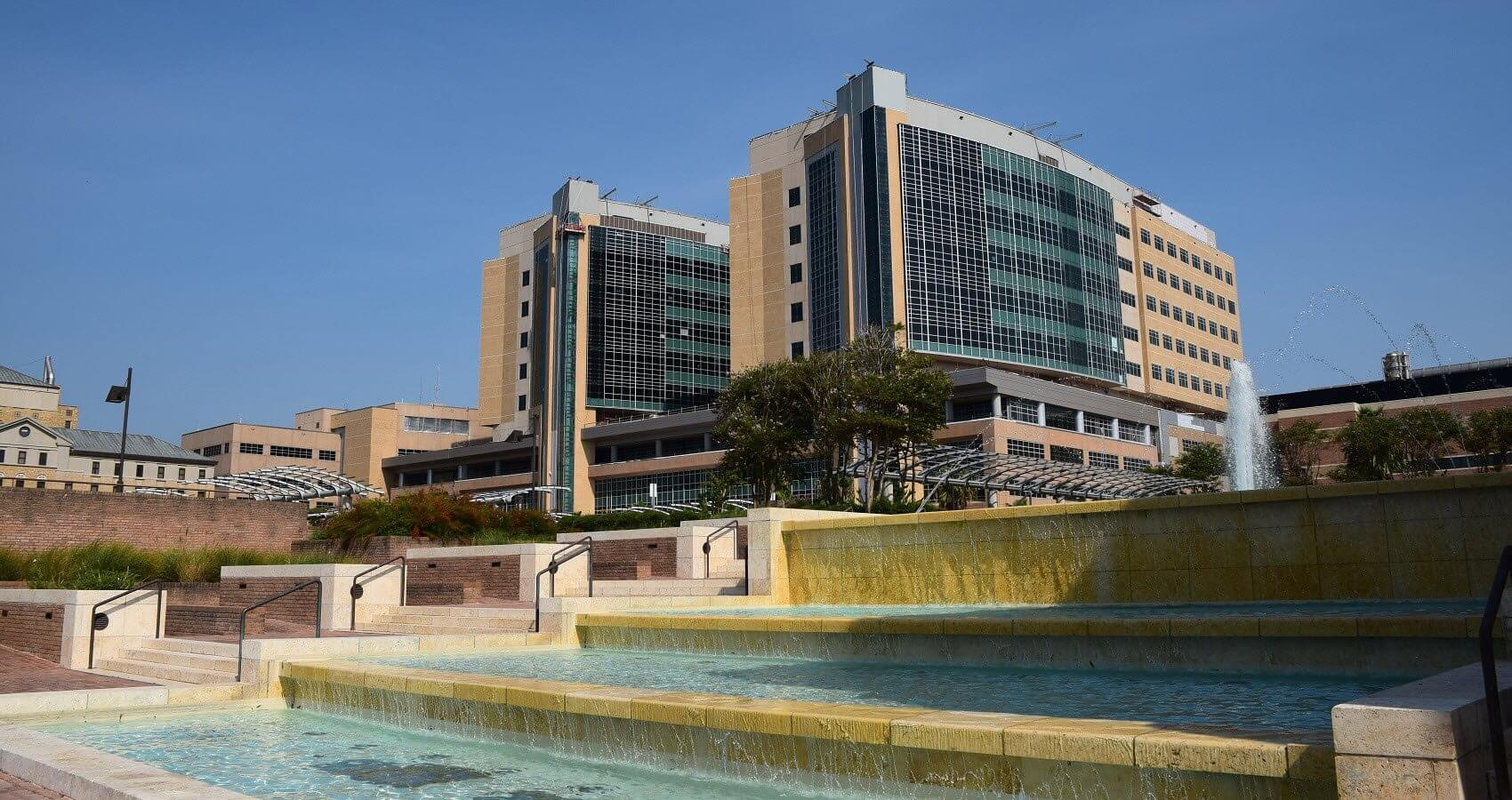 The new Jennie Sealy Hospital at the University of Texas Medical Branch at Galveston scheduled for a 2016 opening.