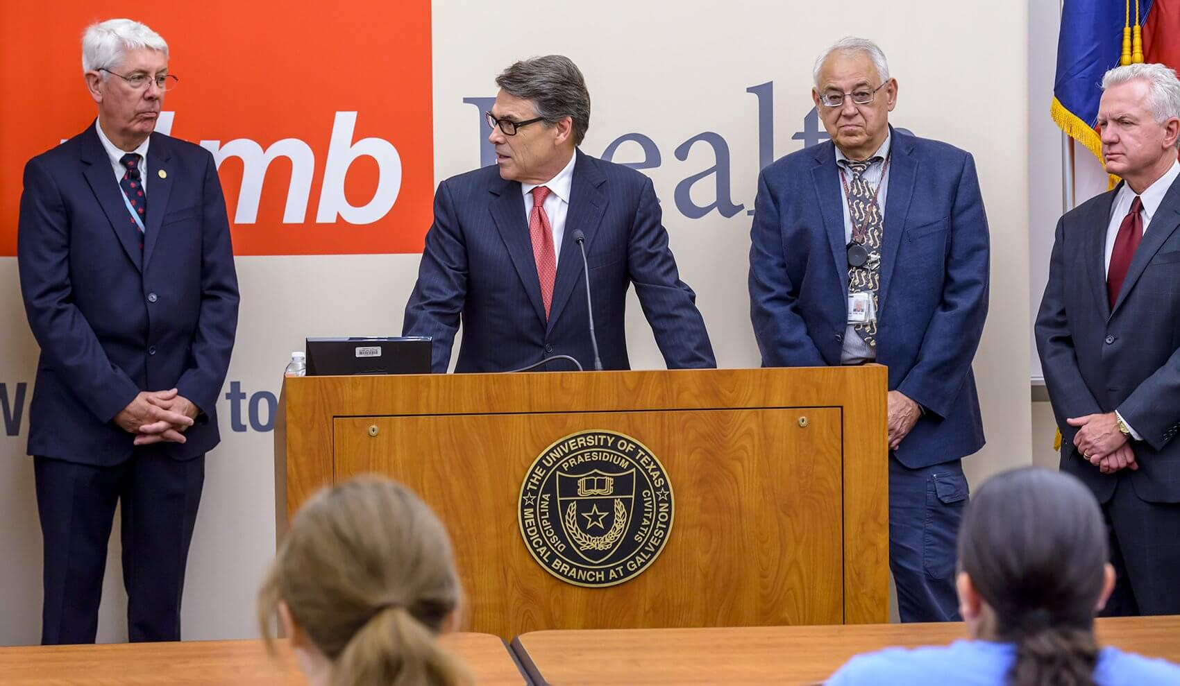 Ksiazek was recently named to the Texas Task Force on Infectious Disease Preparedness and Response by Gov. Rick Perry. (Credit: UTMB)