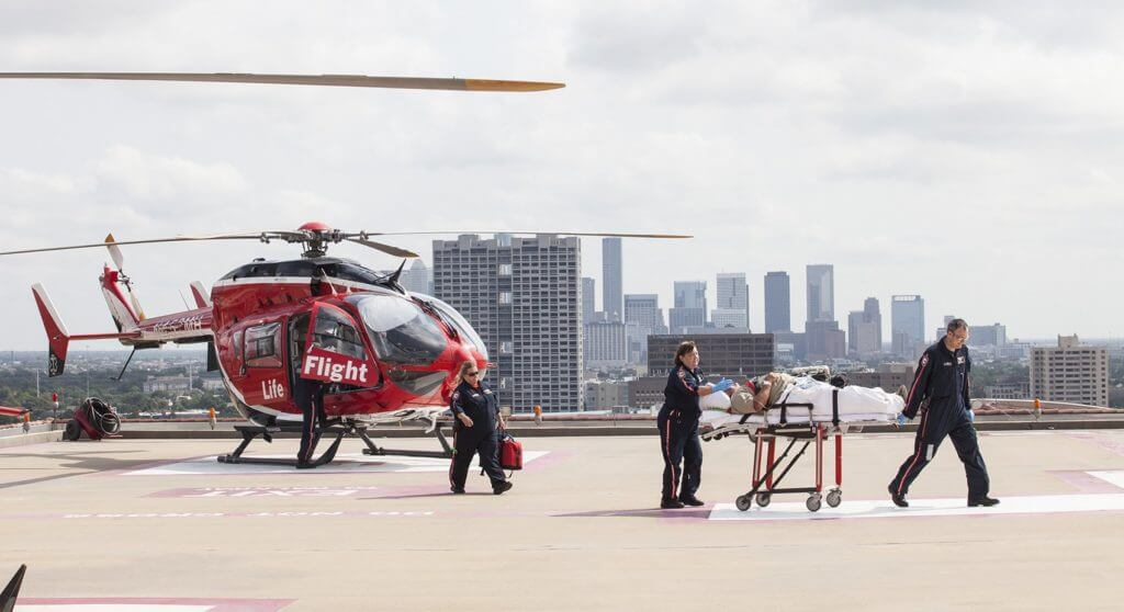 Life Flight, Memorial Hermann Hospital, July 14, 2014. (Photo/Scott Dalton)