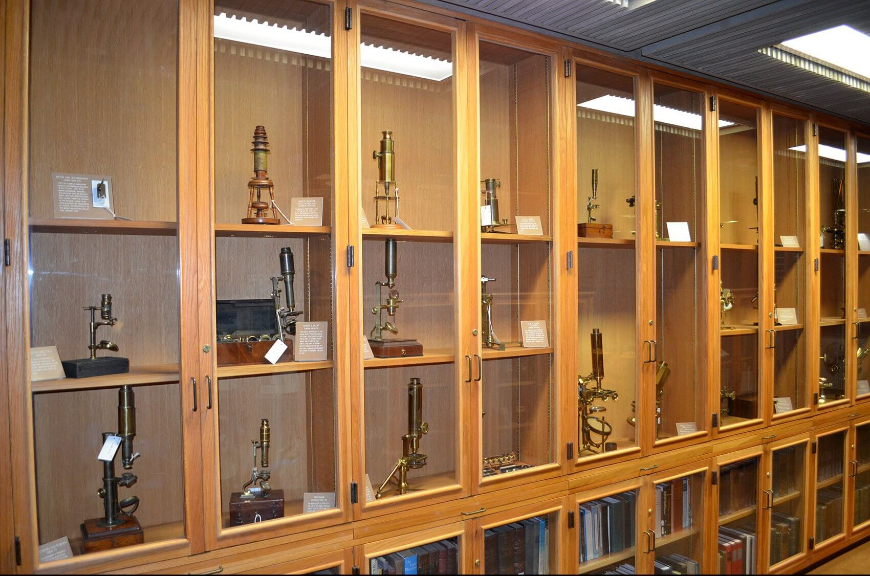 Microscope Collection, Truman G. Blocker, Jr. History of Medicine Collections