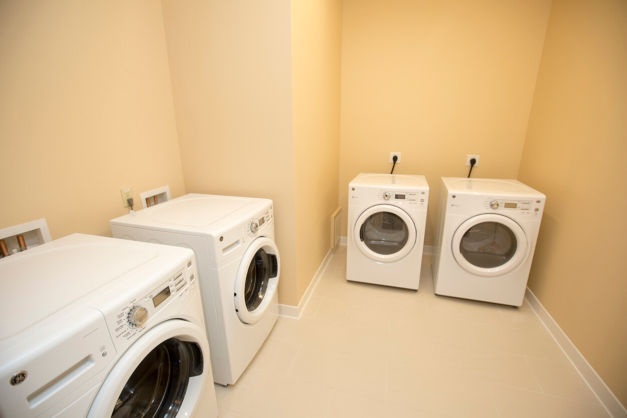 All guests have access to laundry facilities.