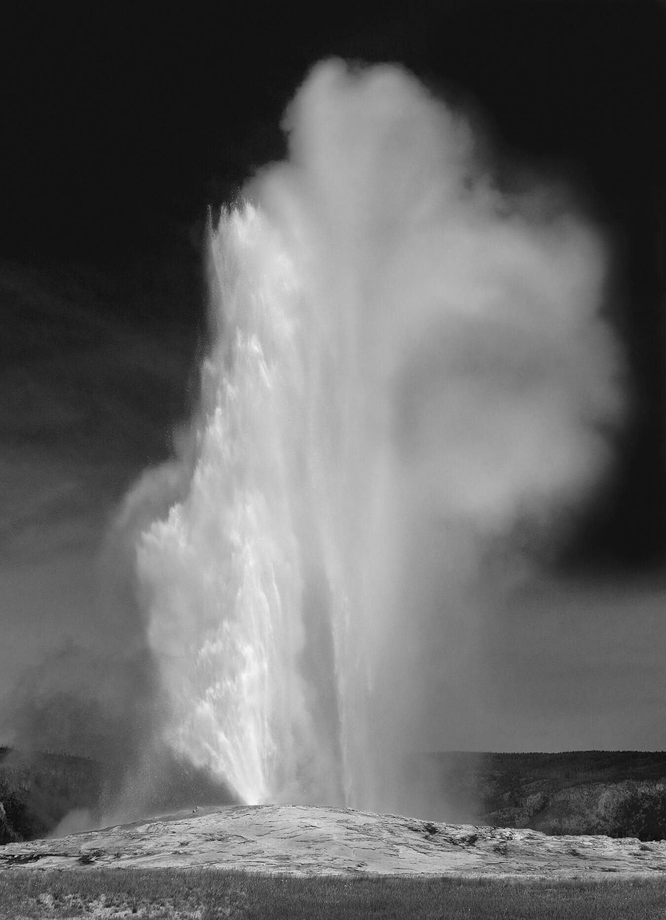 'Old Faithful,' Yellowstone National Park- Photo by Mark Burns
