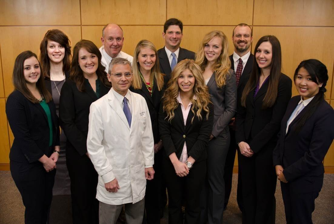 Pictured here is the incoming class of Physician Assistant Fellows for 2015, program administrators and surgeons Pictured left to right: (Row 1) Dr. Larry Hollier (chief of plastic surgery), Jordan McAndrews (Row 2) Kelly Wiseman, PA-C, Sara Mullinax, PA-C, Abby Young, PA-C, Chelsea Hartwig, PA-C, Brittney Knudson, PA-C, Thian Nguyen, PA-C (Row 3) Kristen Daniels, PA-C, Dr. Charles Fraser (surgeon-in-chief), Matt Girotto, Ryan Krasnosky, PA-C