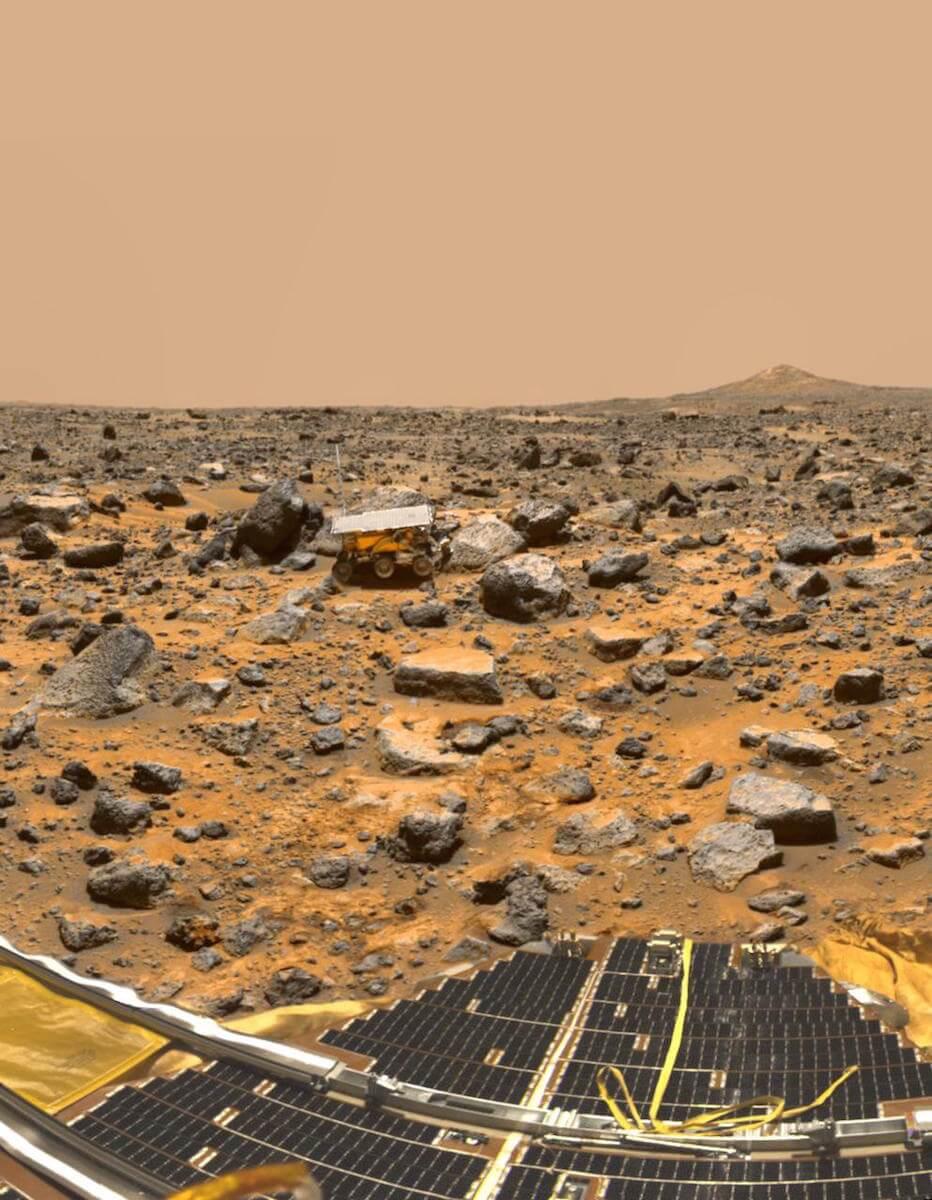 Pathfinder on Mars. (Credit: NASA/JPL)